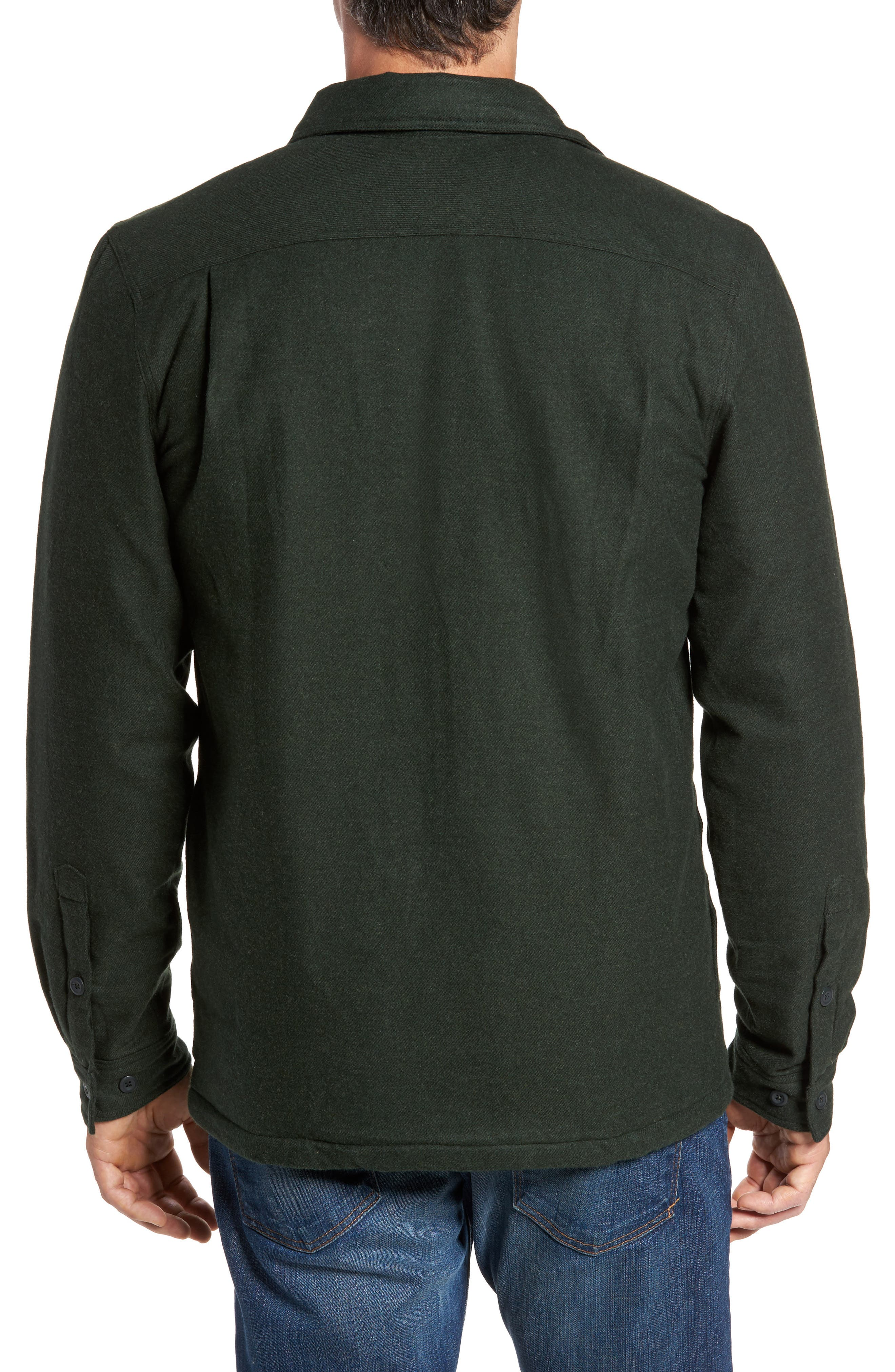 'Fjord' Flannel Shirt Jacket,                             Alternate thumbnail 2, color,                             002