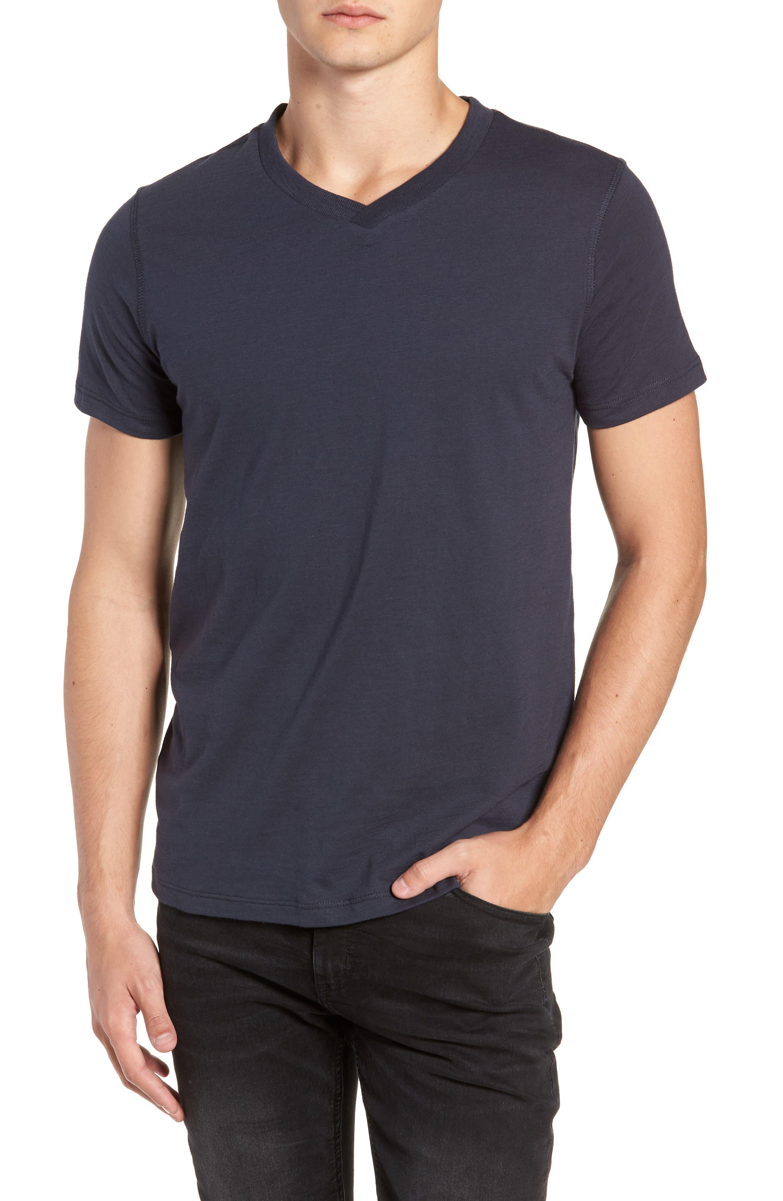 Soccer V-Neck T-Shirt,                         Main,                         color, CARBON