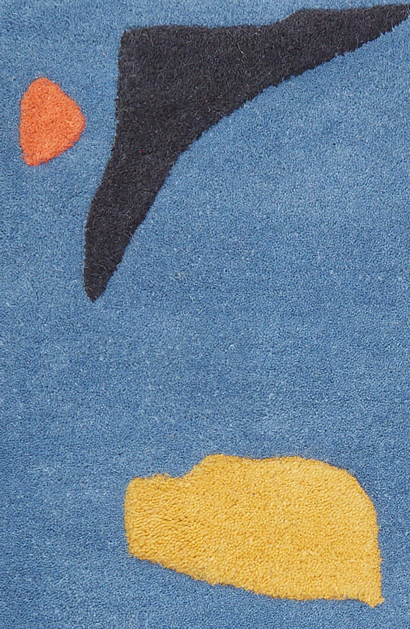 The Little Stranger Hand Tufted Wool Rug,                             Alternate thumbnail 2, color,                             BLUE