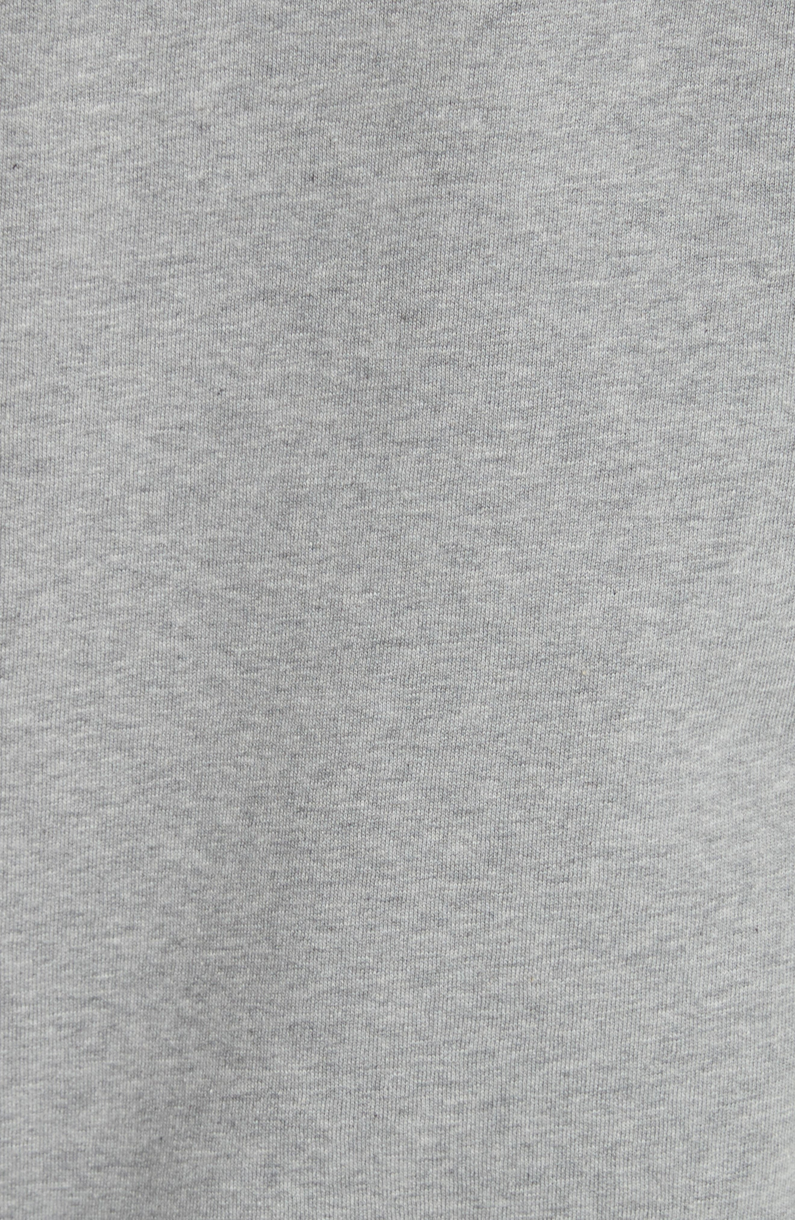 Kenton Regular Fit Full Zip Fleece Hoodie,                             Alternate thumbnail 5, color,                             050