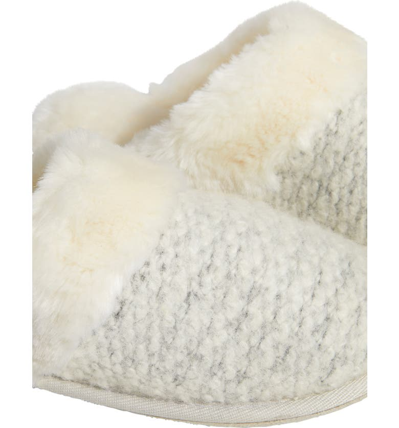 The White Company Textured Felt Mule Slipper | Nordstrom