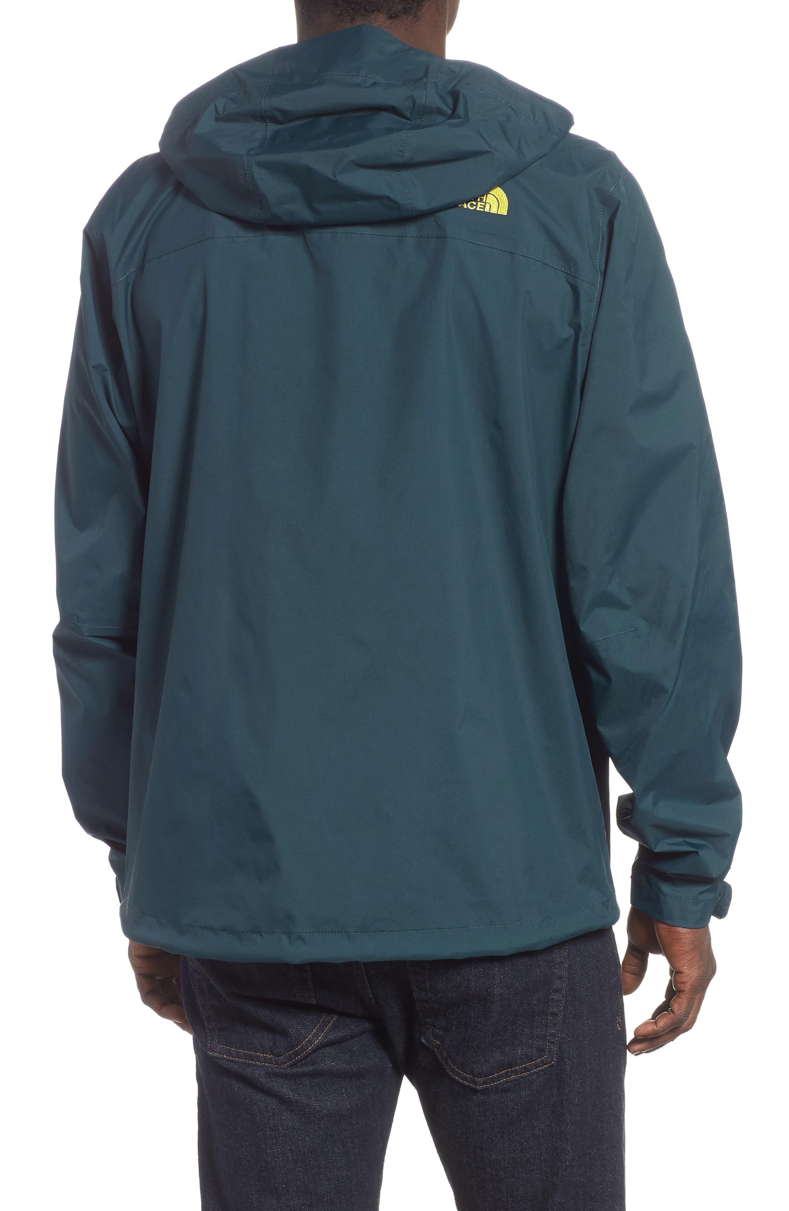 THE NORTH FACE,                             Venture II Raincoat,                             Alternate thumbnail 2, color,                             KODIAK BLUE/ KODIAK BLUE
