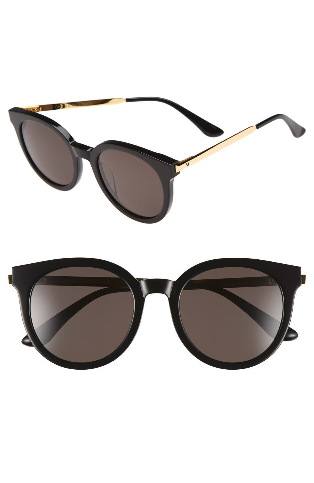 GENTLE MONSTER 'Didi A' 52mm Retro Sunglasses, Main, color, 001