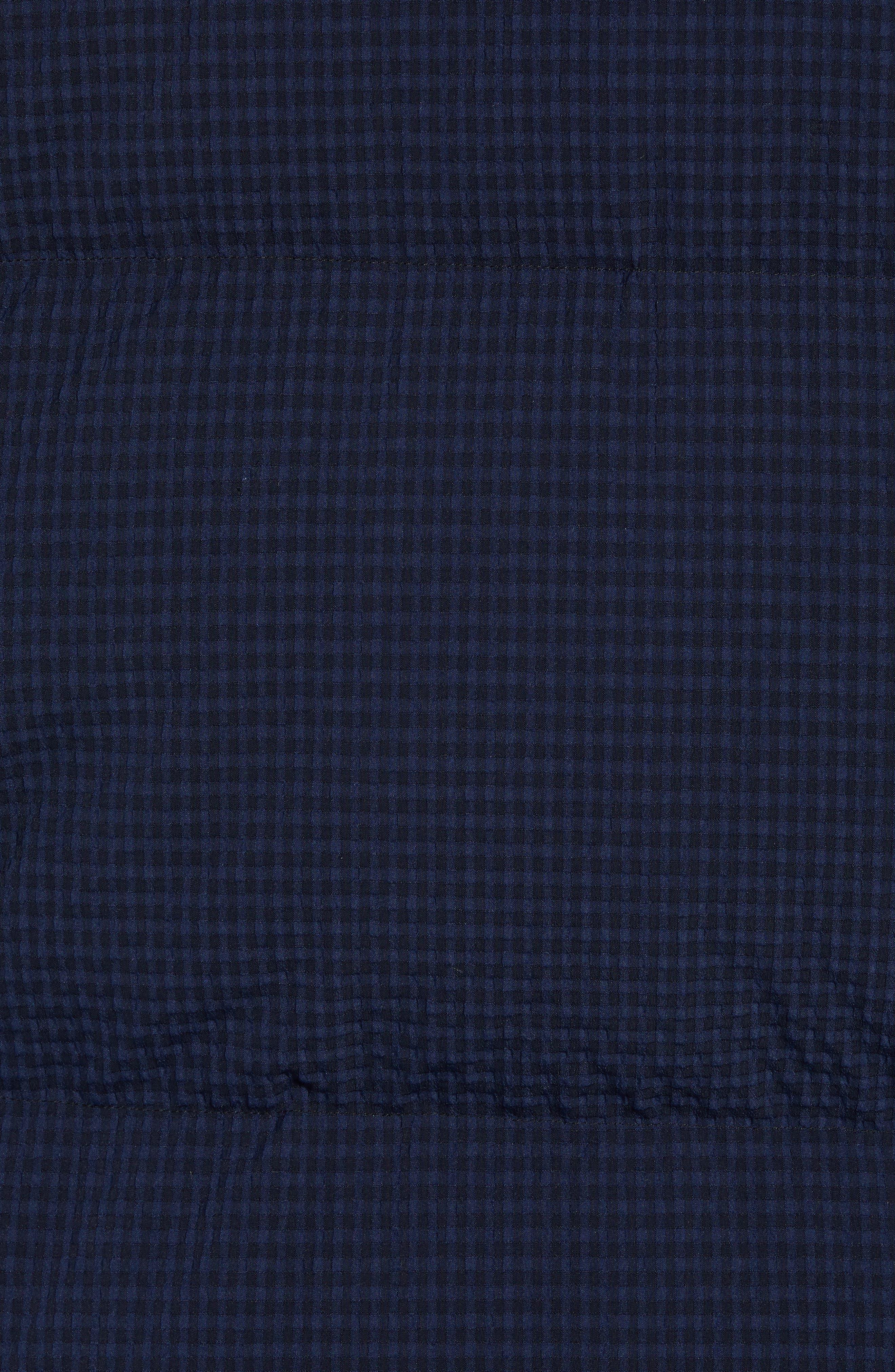 Fulton 3 Regular Fit Seersucker Puffer Jacket,                             Alternate thumbnail 6, color,                             ECLIPSE MULTI