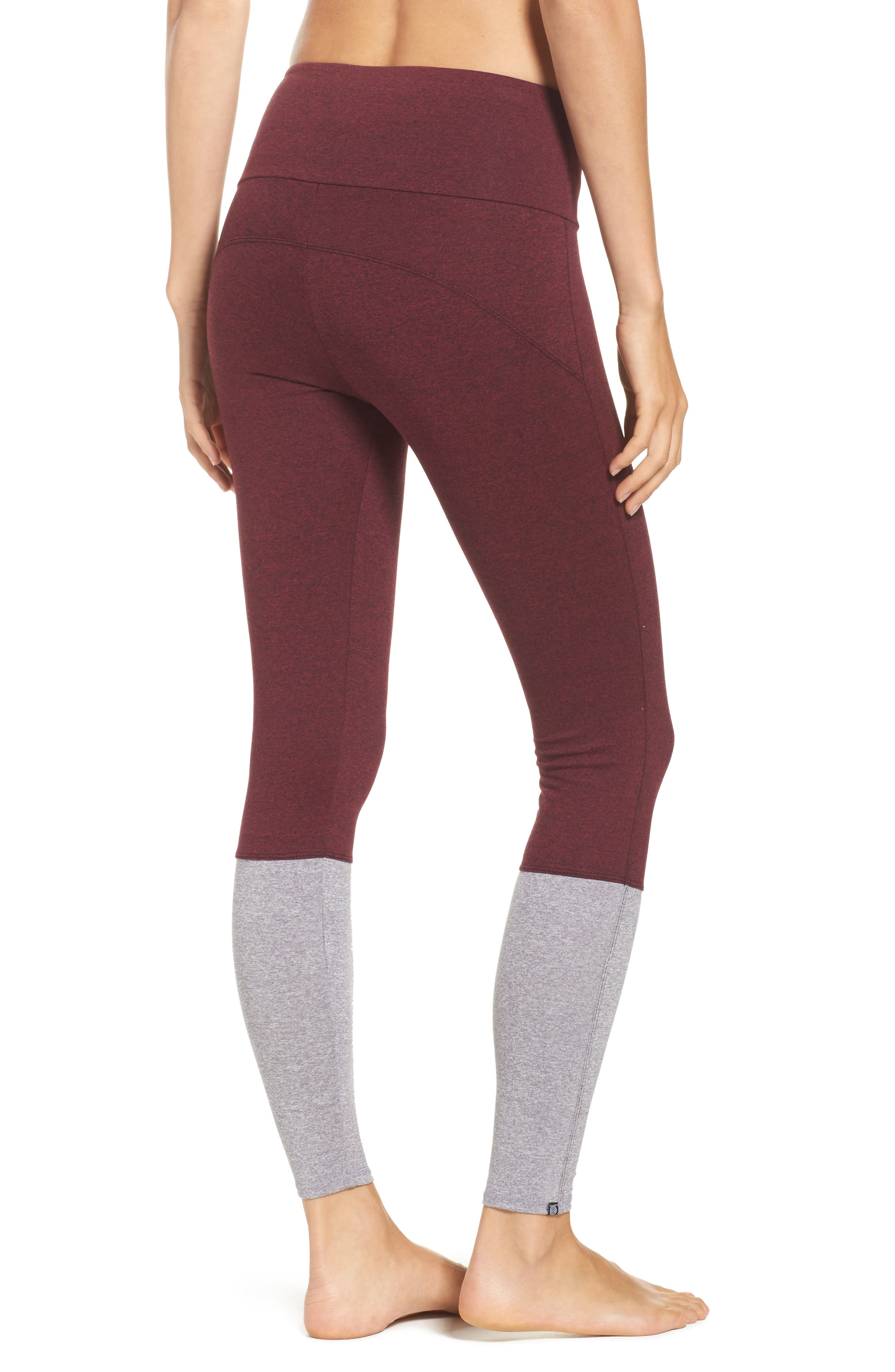 Street High Waist Leggings,                             Alternate thumbnail 7, color,