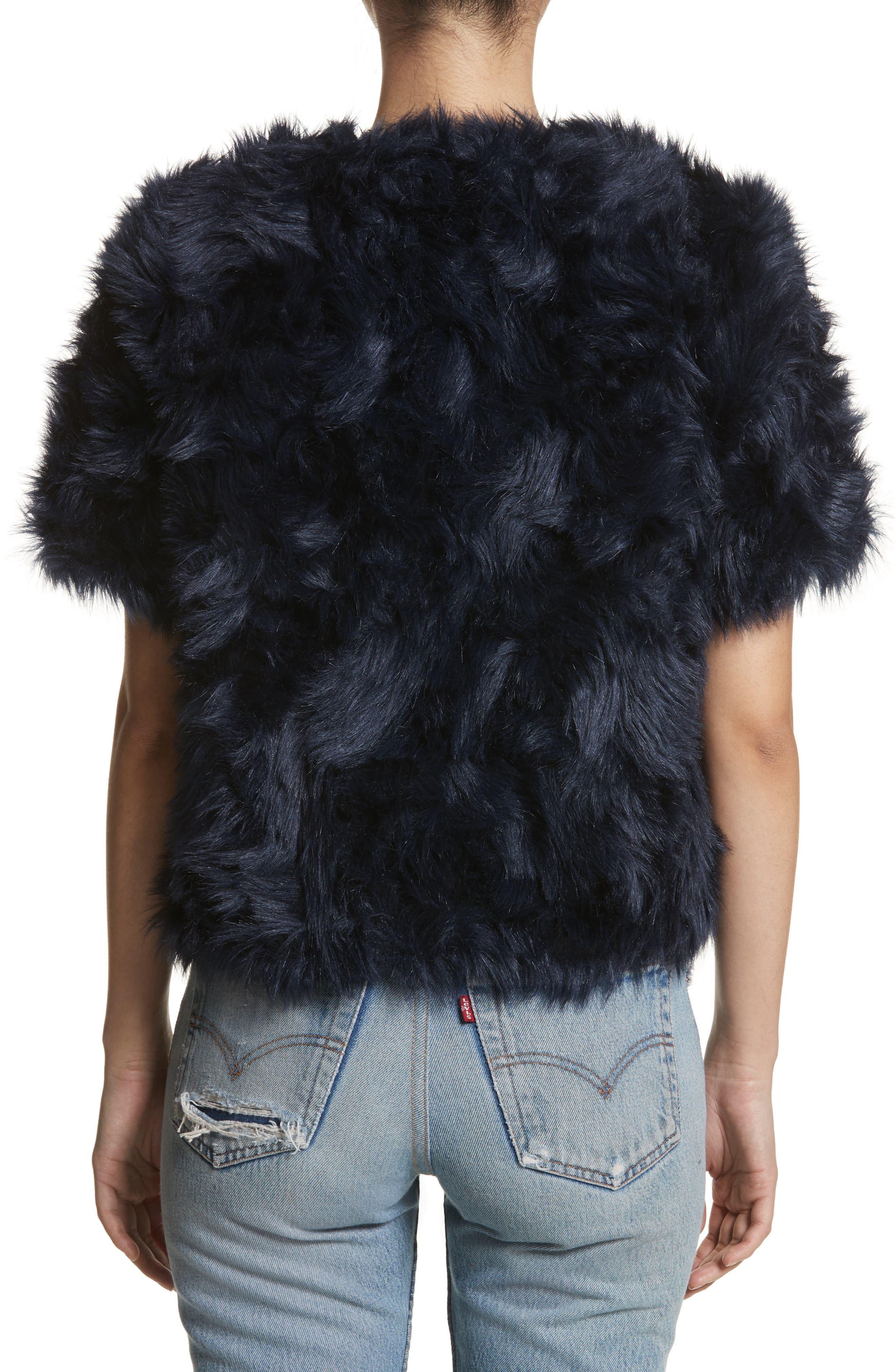 Sofia Faux Fur Jacket,                             Alternate thumbnail 2, color,                             400
