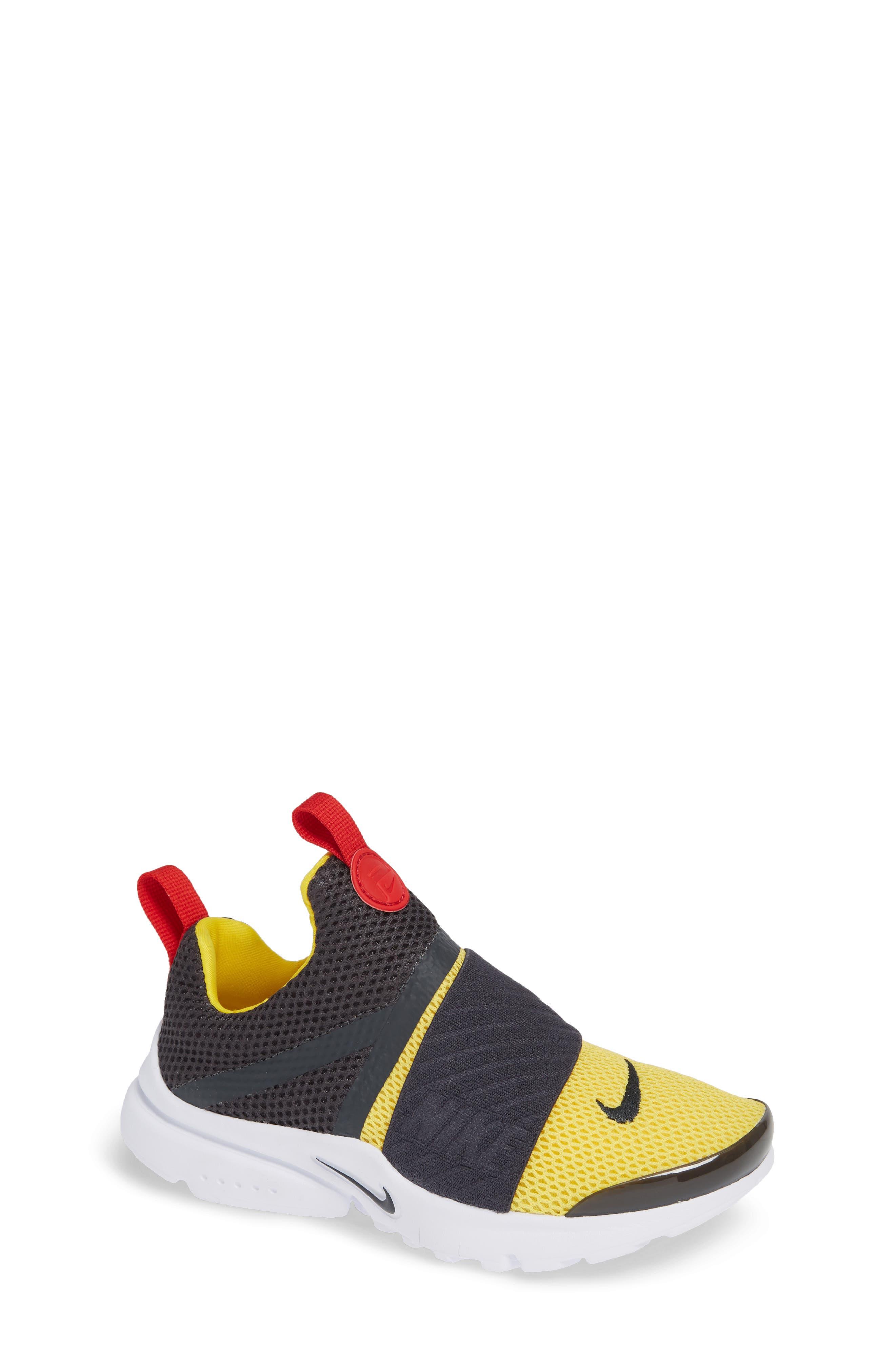 Presto Extreme Sneaker,                         Main,                         color, ANTHRACITE/ TOUR YELLOW