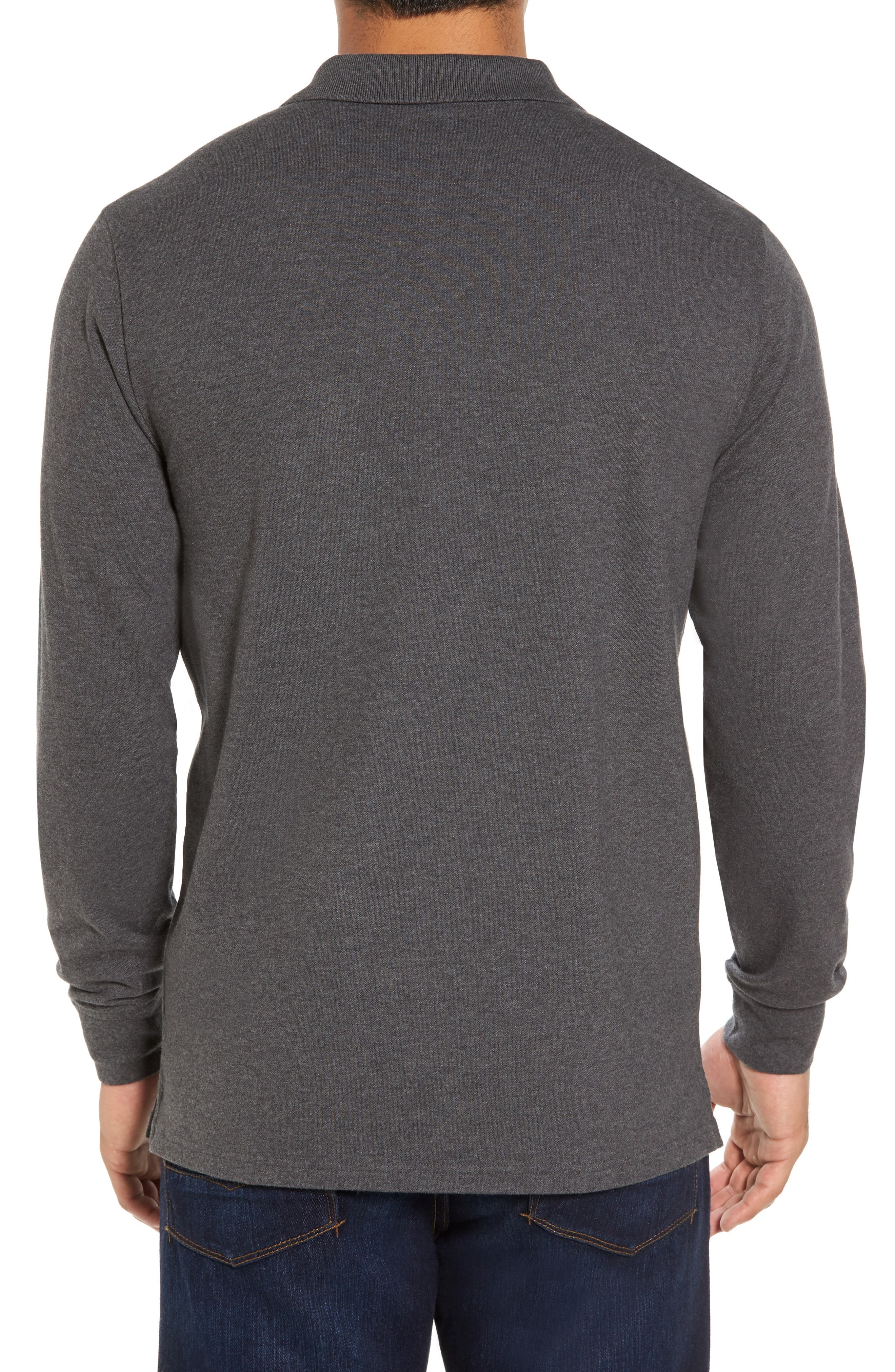 Long Sleeve Polo,                             Alternate thumbnail 2, color,                             025