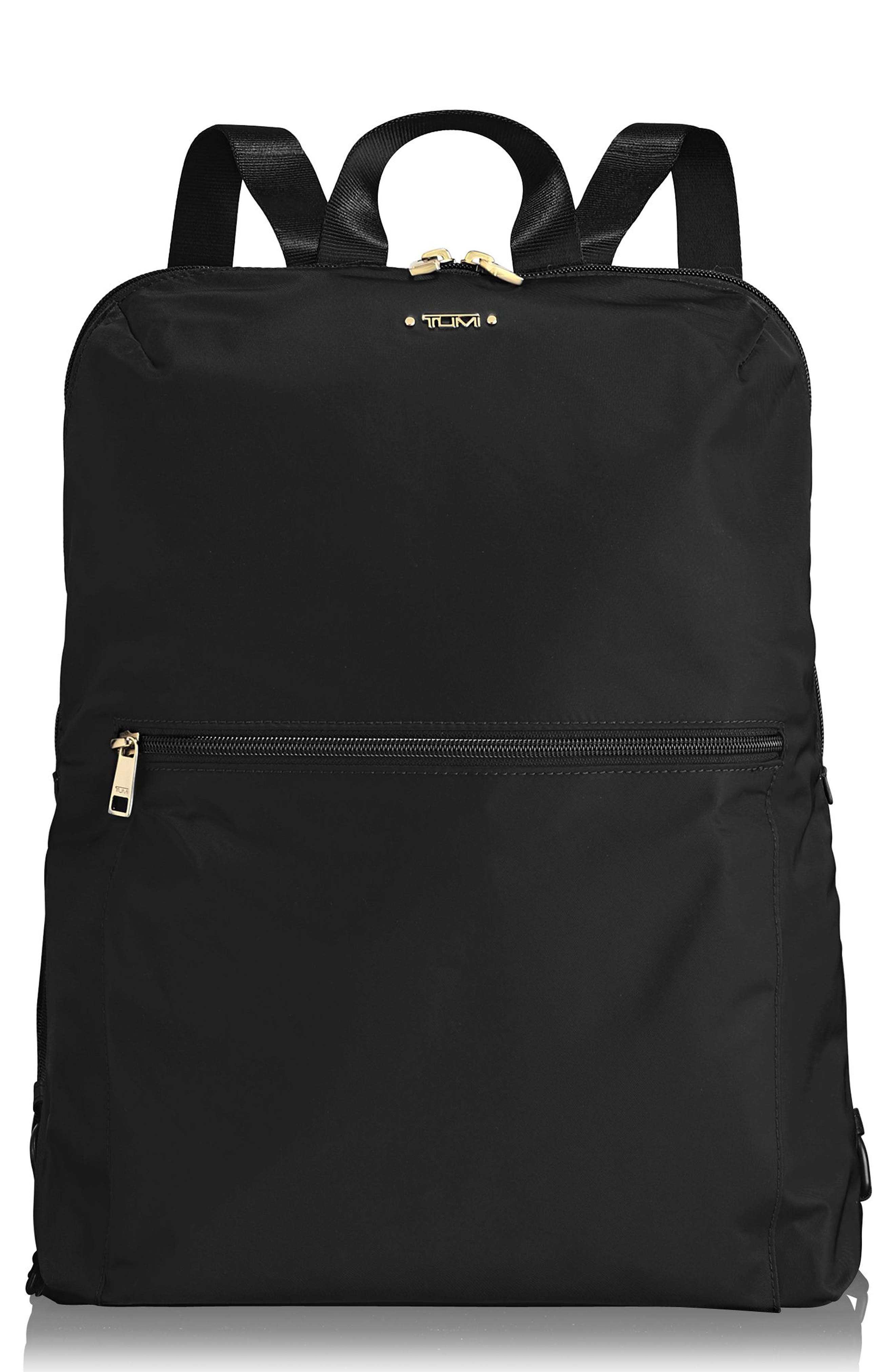 TUMI,                             Voyageur - Just in Case Nylon Travel Backpack,                             Main thumbnail 1, color,                             001