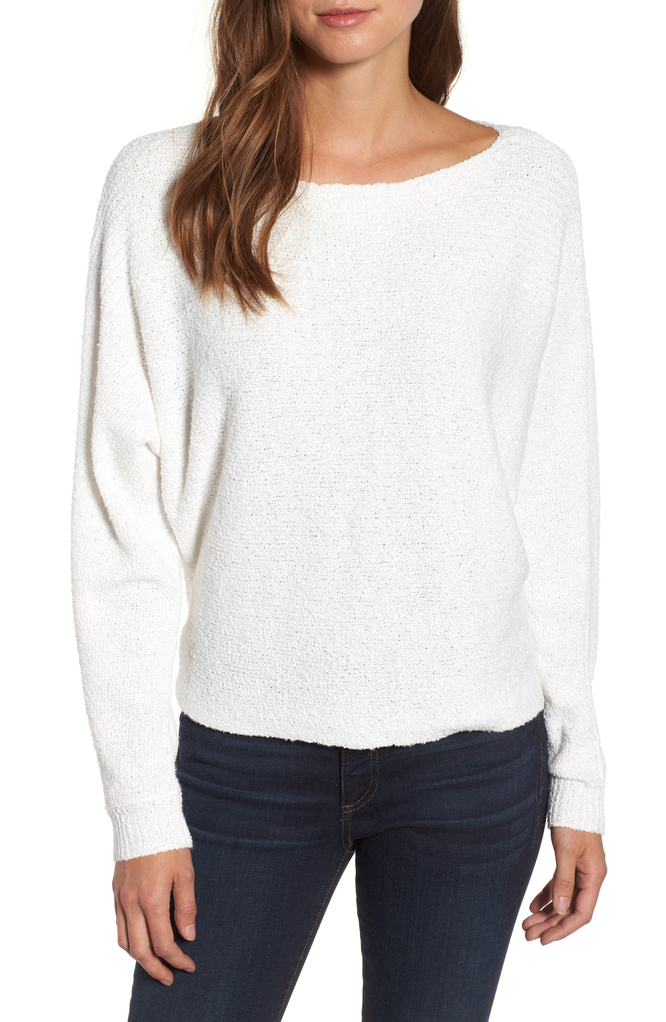 Calson<sup>®</sup> Dolman Sleeve Sweater,                             Main thumbnail 4, color,