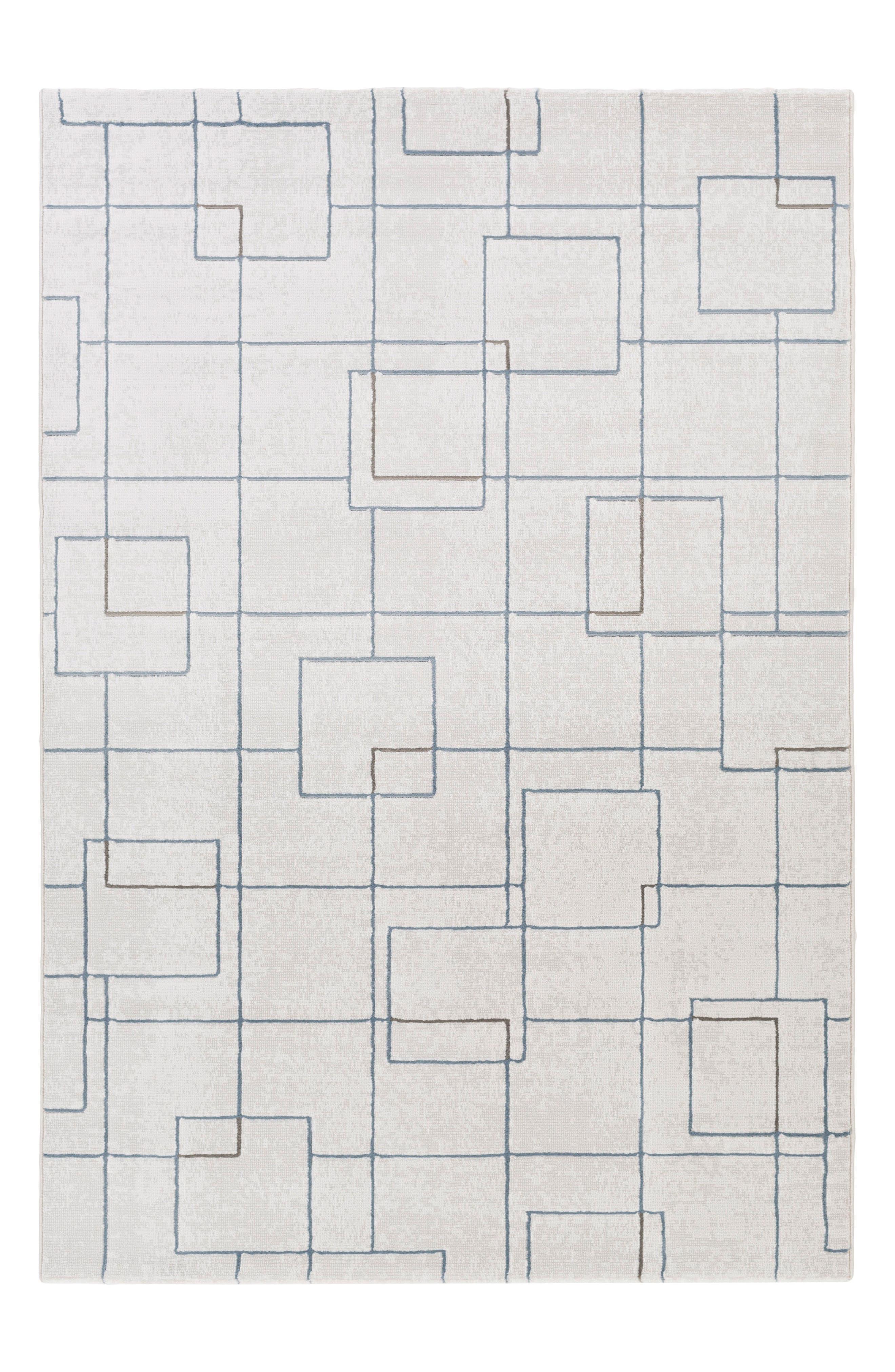 Grid Rug,                             Main thumbnail 1, color,                             100