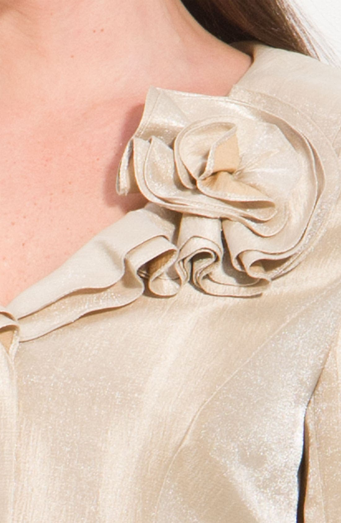 Shimmer Crepe Jacket,                             Alternate thumbnail 2, color,                             250