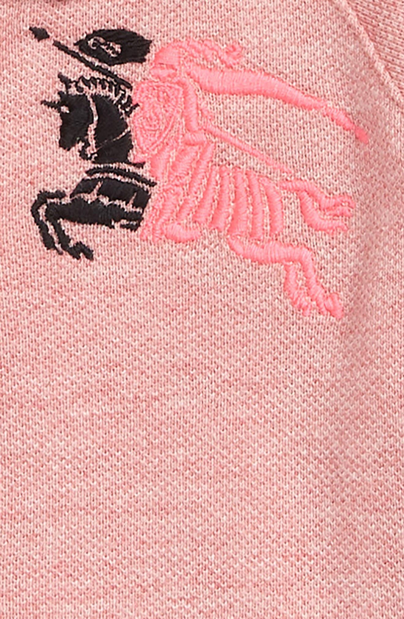 Mini Mollyanna Polo Dress,                             Alternate thumbnail 3, color,                             651