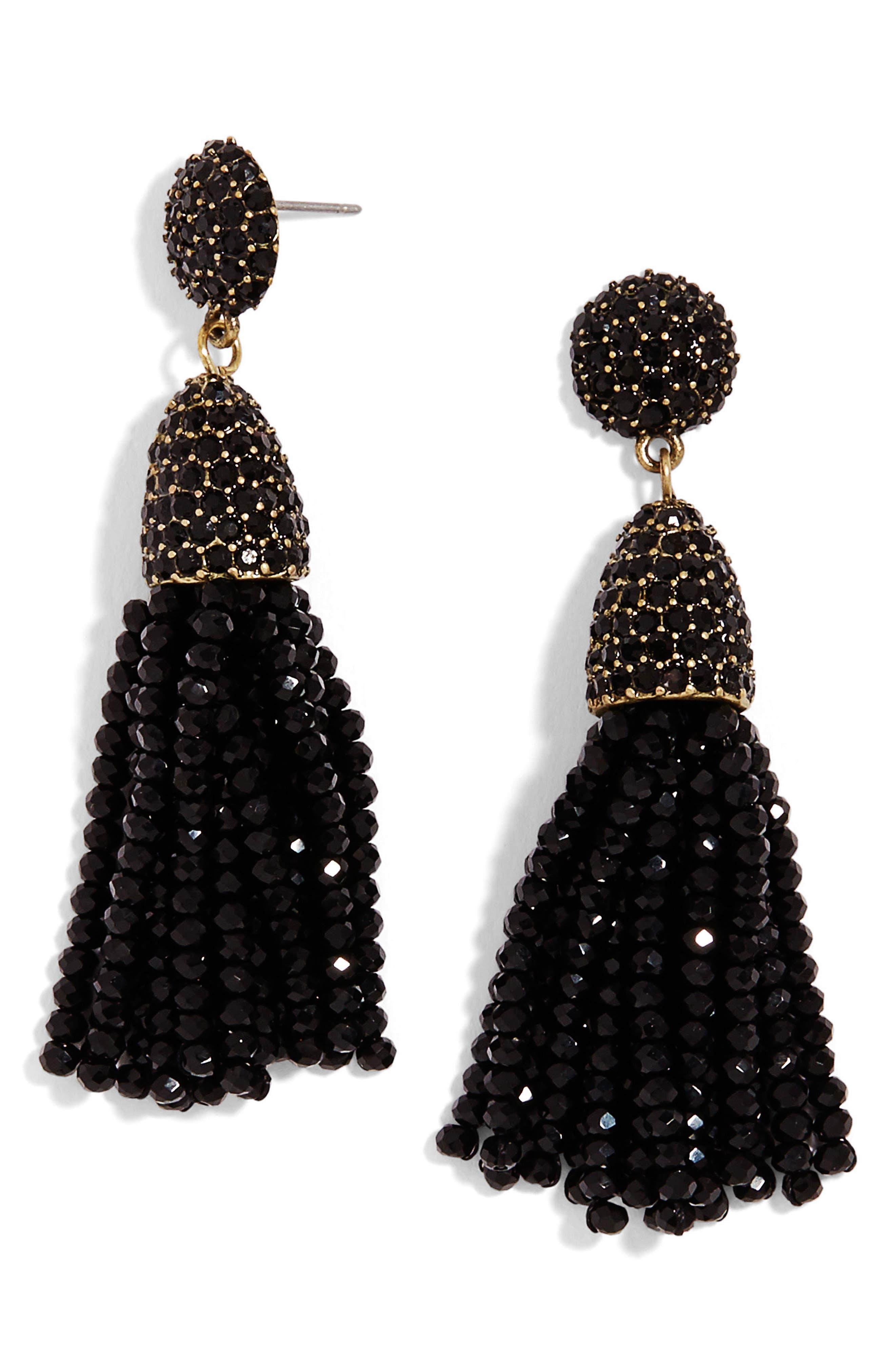 Annabelle Mini Tassel Drop Earrings,                             Alternate thumbnail 8, color,