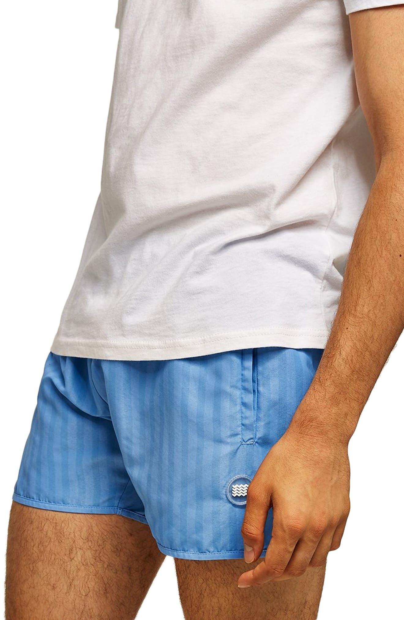 Stripe Swim Trunks,                         Main,                         color, 400