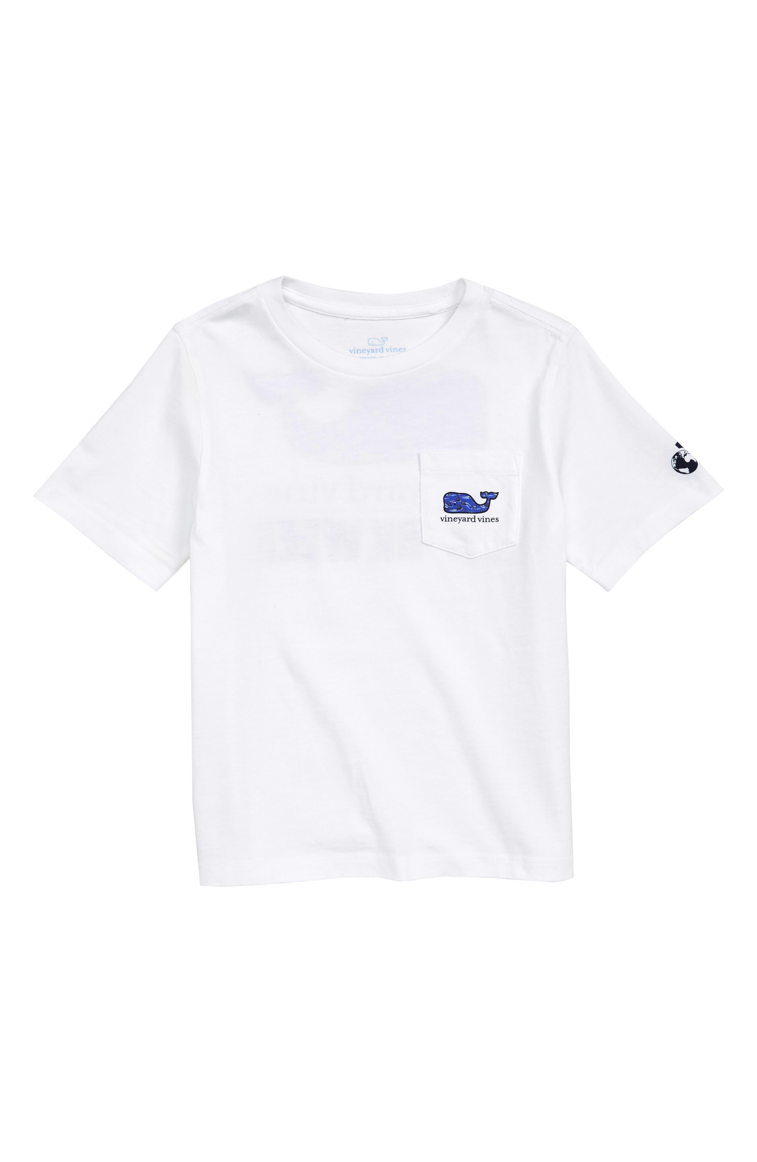 x Shark Week<sup>™</sup> Circling Sharks Pocket T-Shirt,                             Main thumbnail 1, color,                             100