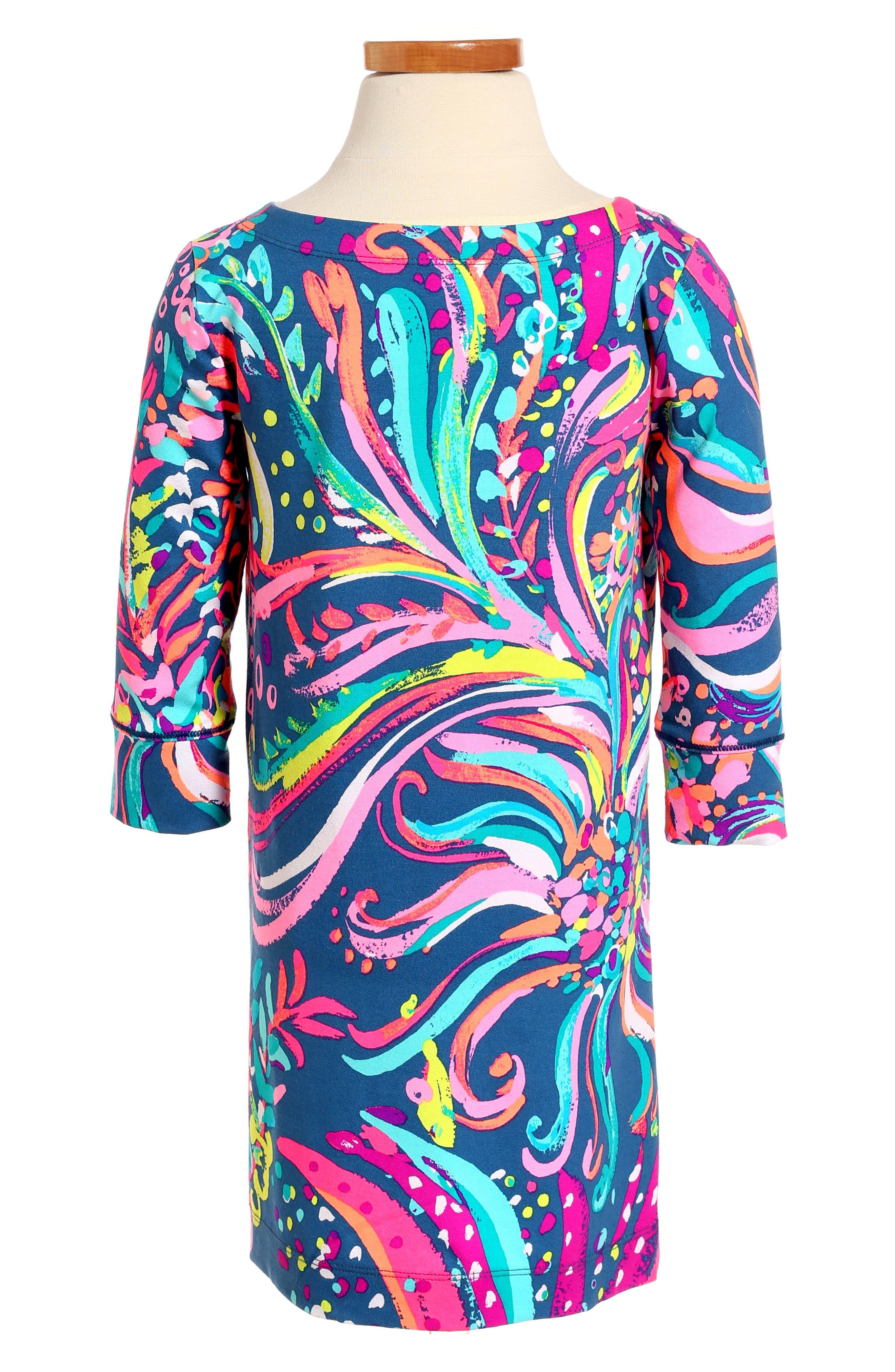 Mini Sophie UPF 50+ Dress,                             Alternate thumbnail 2, color,                             449