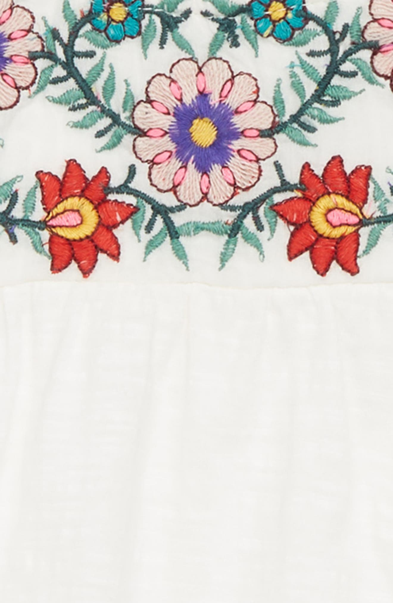Stella Embroidered Peasant Top,                             Alternate thumbnail 2, color,                             900