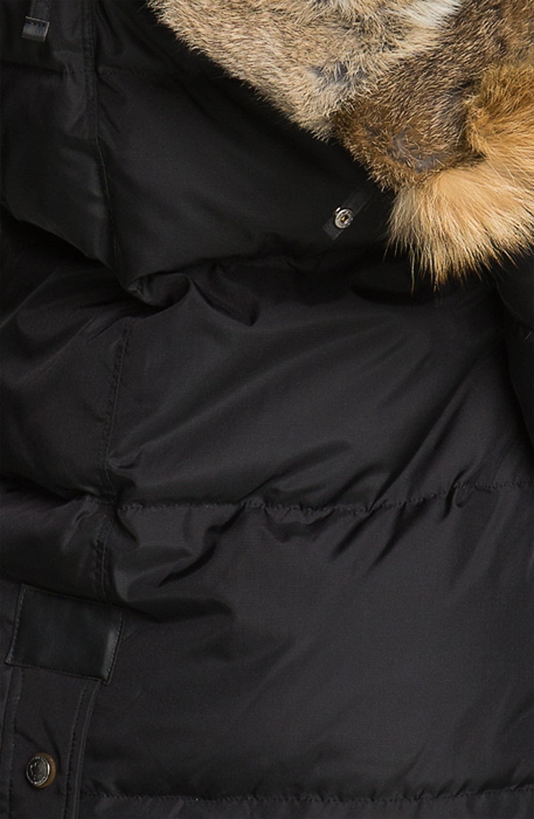 'Cougar' Down Parka with Genuine Coyote & Rabbit Fur,                             Alternate thumbnail 2, color,                             001