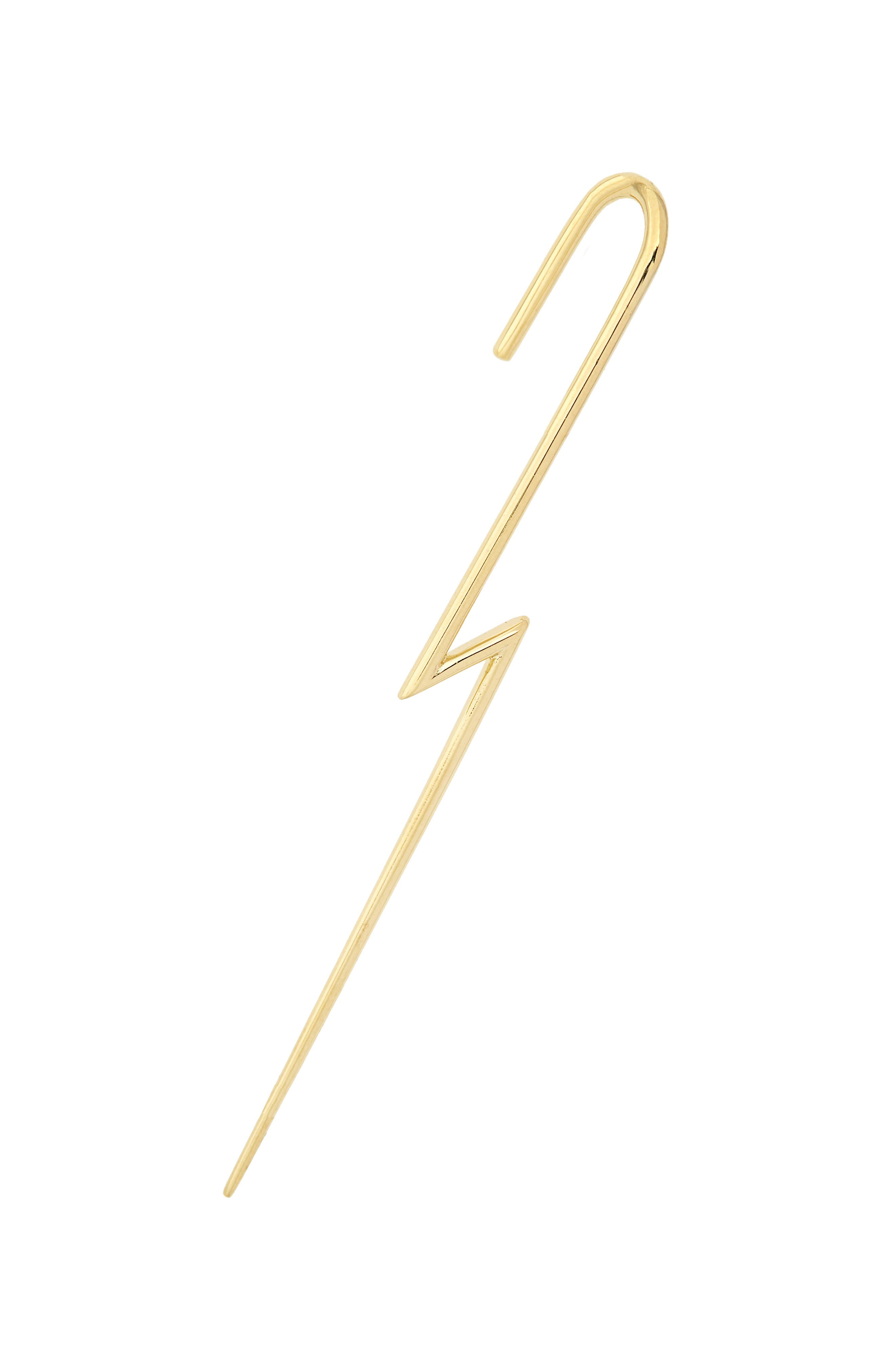 KAT KIM The Flash Ear Pin in Gold