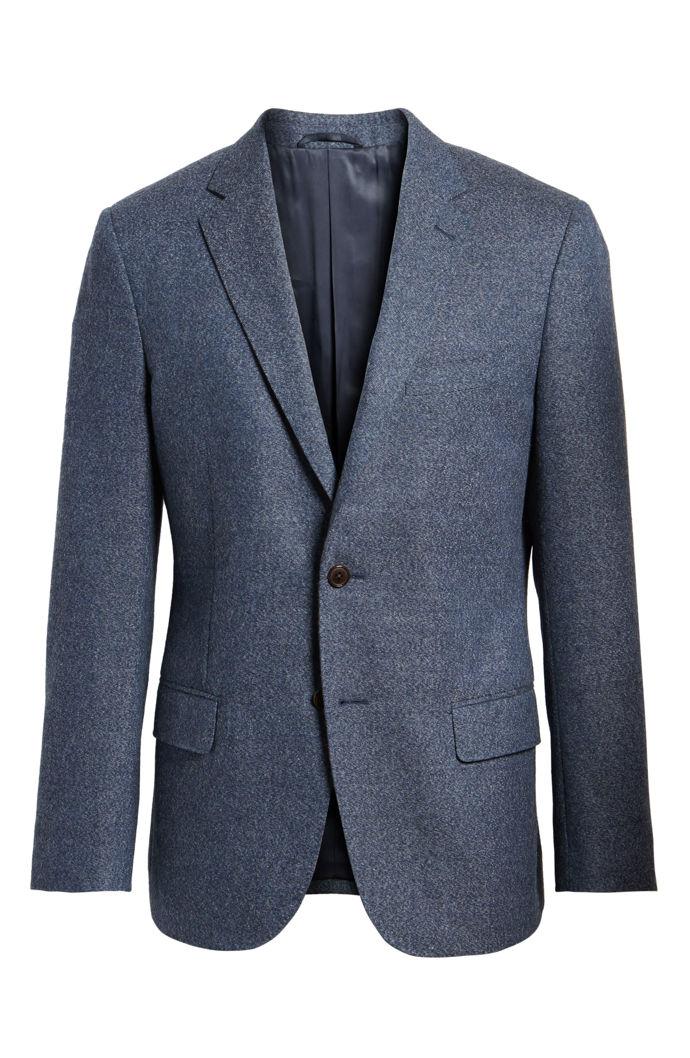 Charleston Wool Blend Sport Coat,                             Alternate thumbnail 5, color,                             414