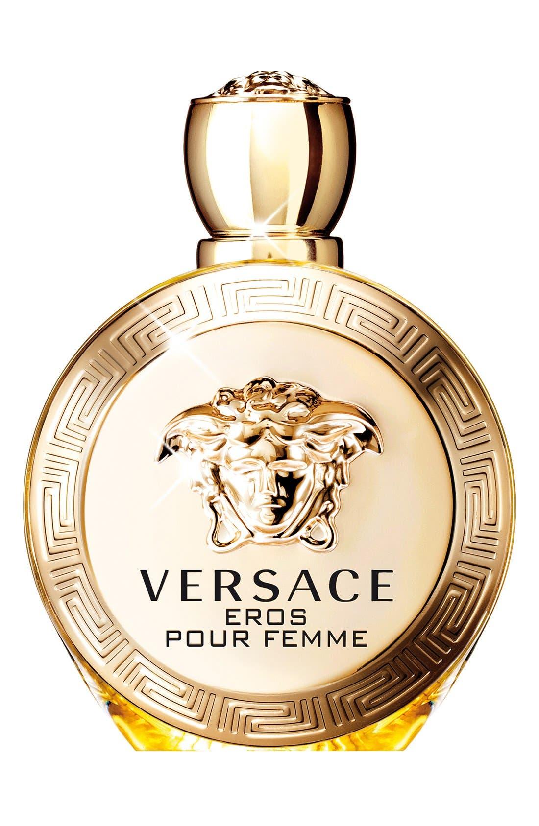 'Eros Pour Femme' Eau de Parfum,                             Main thumbnail 1, color,                             NO COLOR