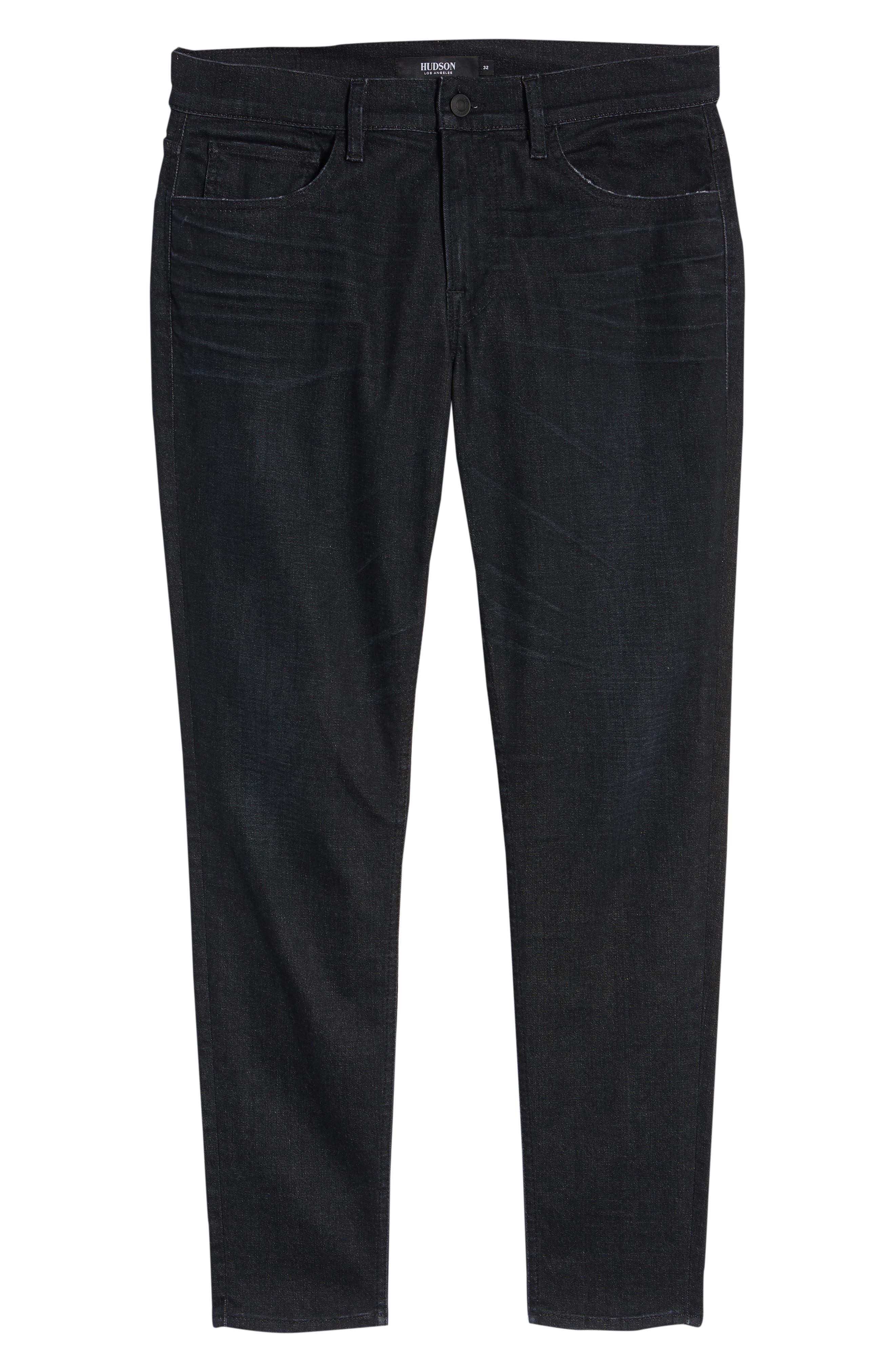 Byron Straight Leg Jeans,                             Alternate thumbnail 6, color,                             BENFIELD