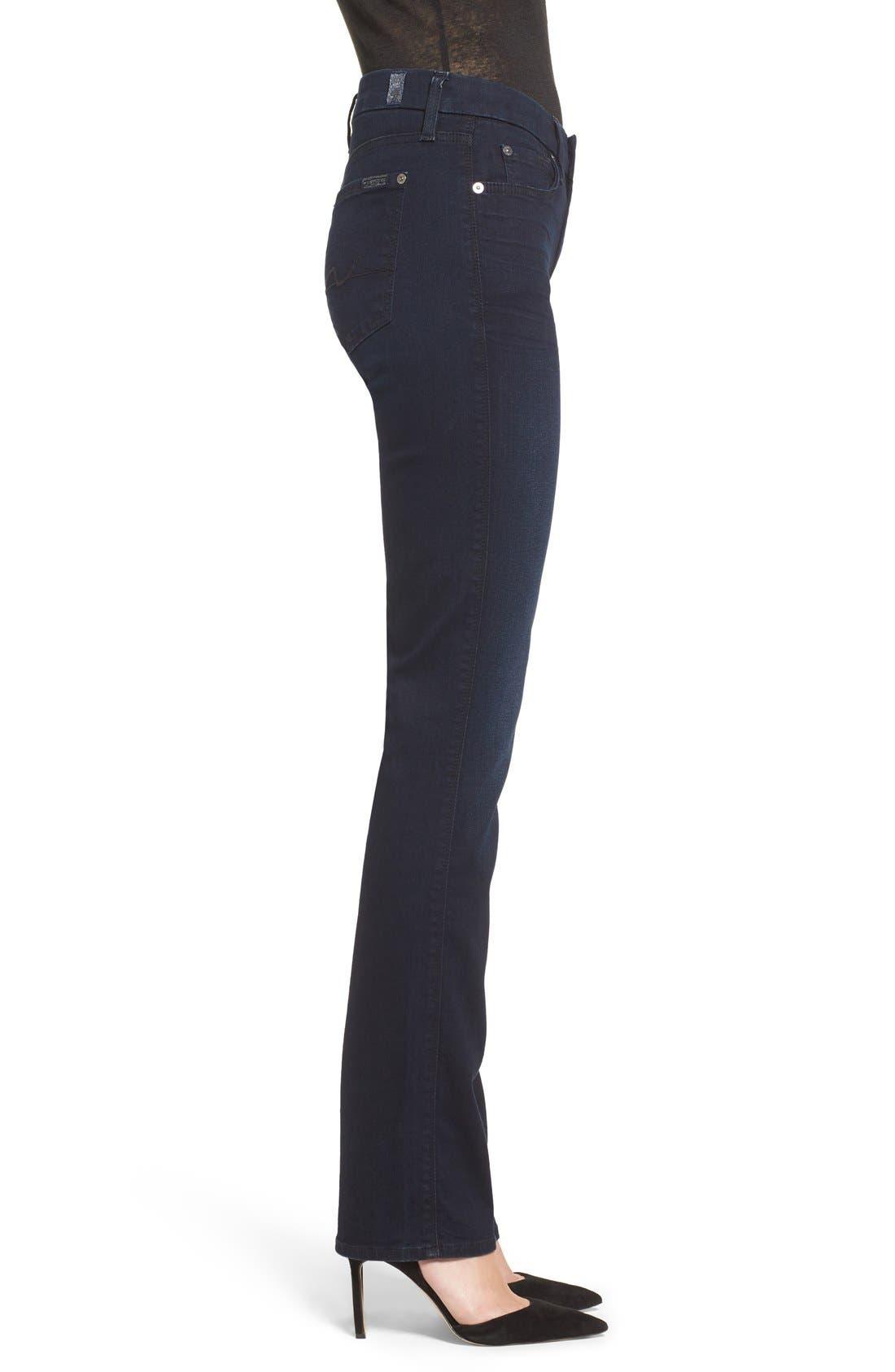 'b(air) - Kimmie' Straight Leg Jeans,                             Alternate thumbnail 3, color,