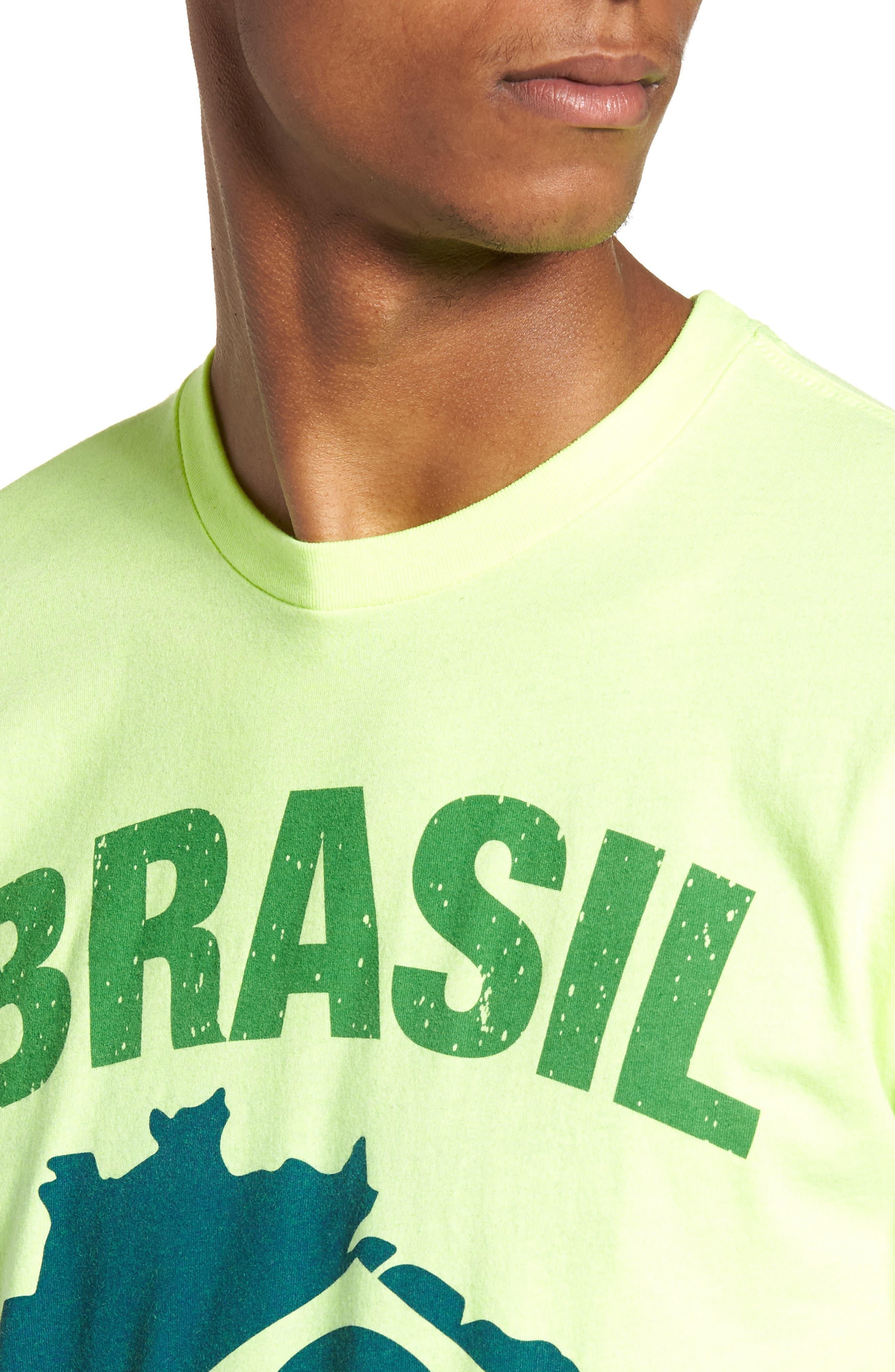 Brasil Futbol T-Shirt,                             Alternate thumbnail 4, color,                             700