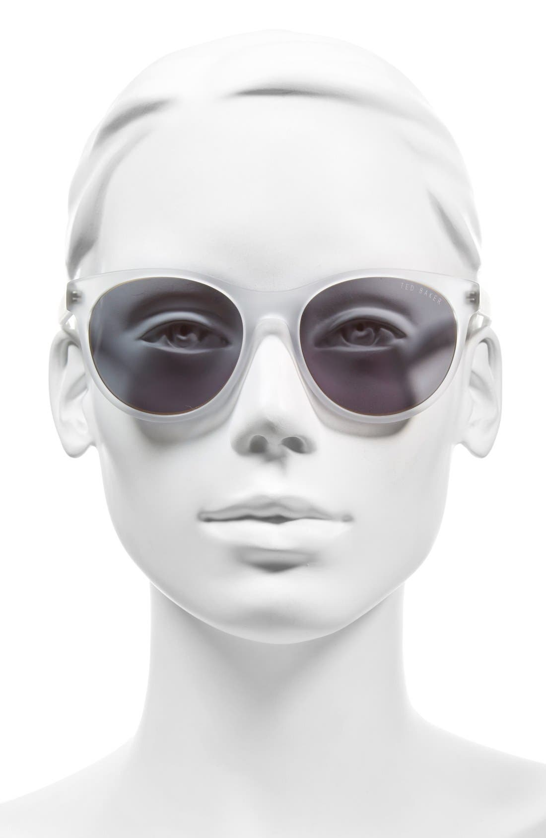 54mm Retro Sunglasses,                             Alternate thumbnail 7, color,