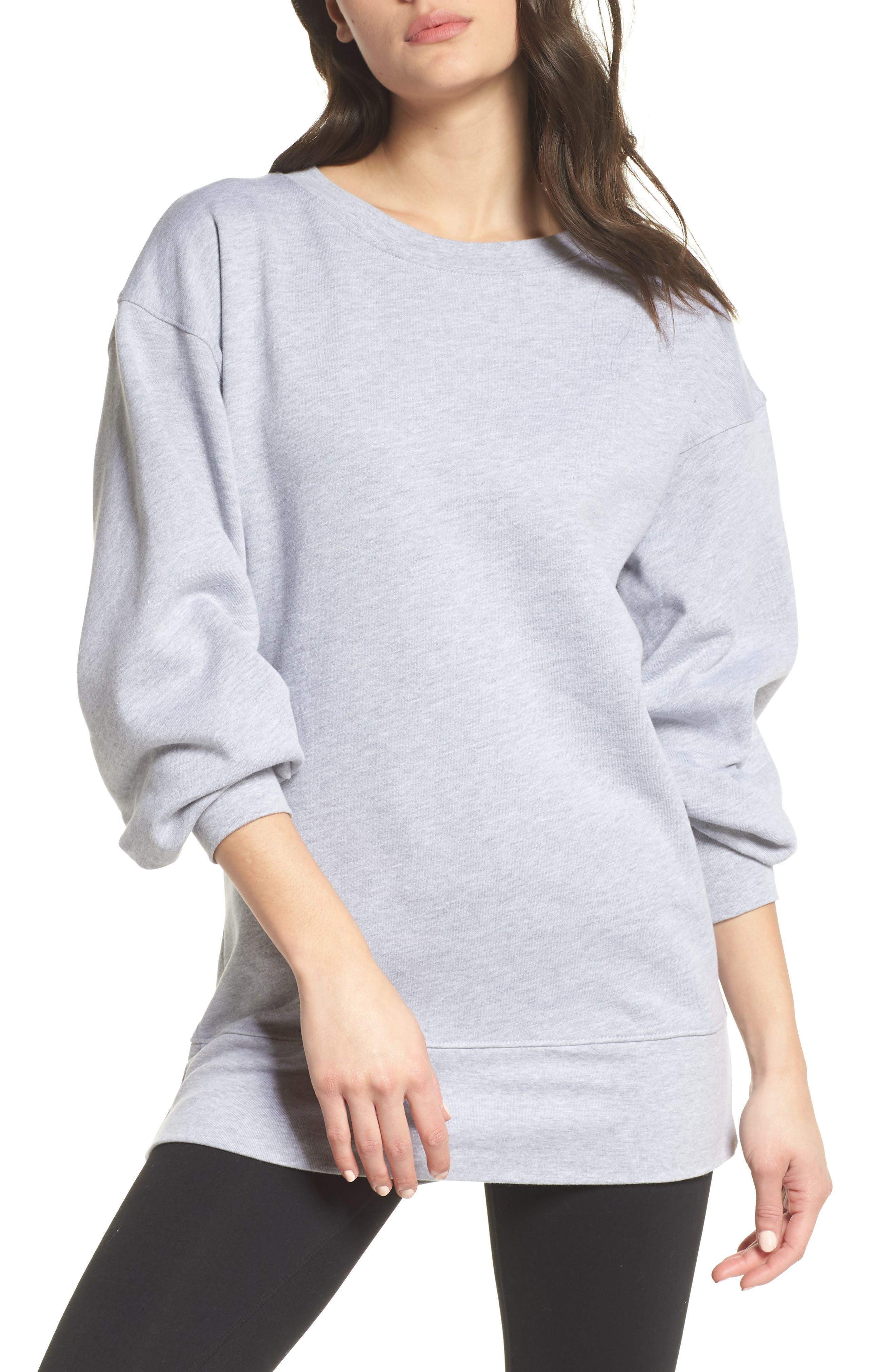 Boxy Oversize Sweatshirt,                             Main thumbnail 3, color,