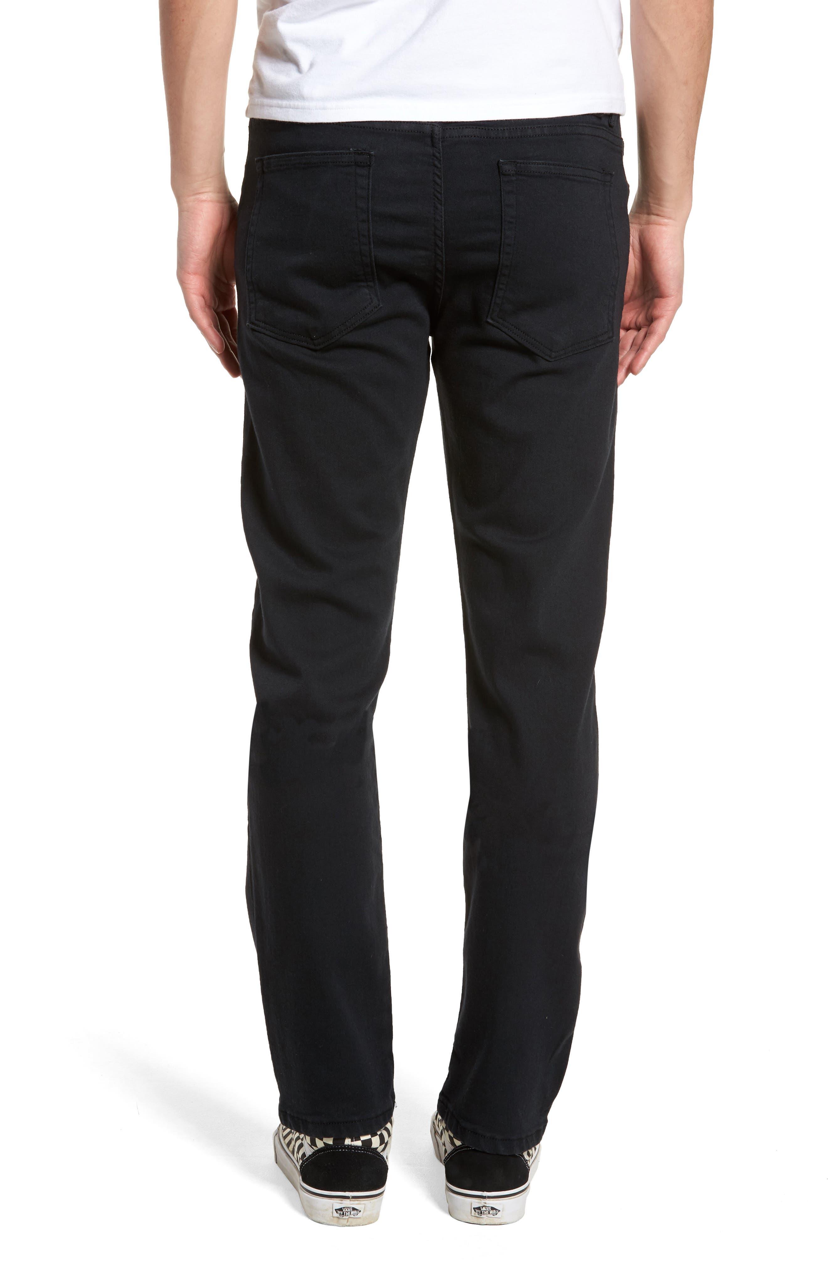 Weird Guy Slim Fit Jeans,                             Alternate thumbnail 2, color,                             BLACK