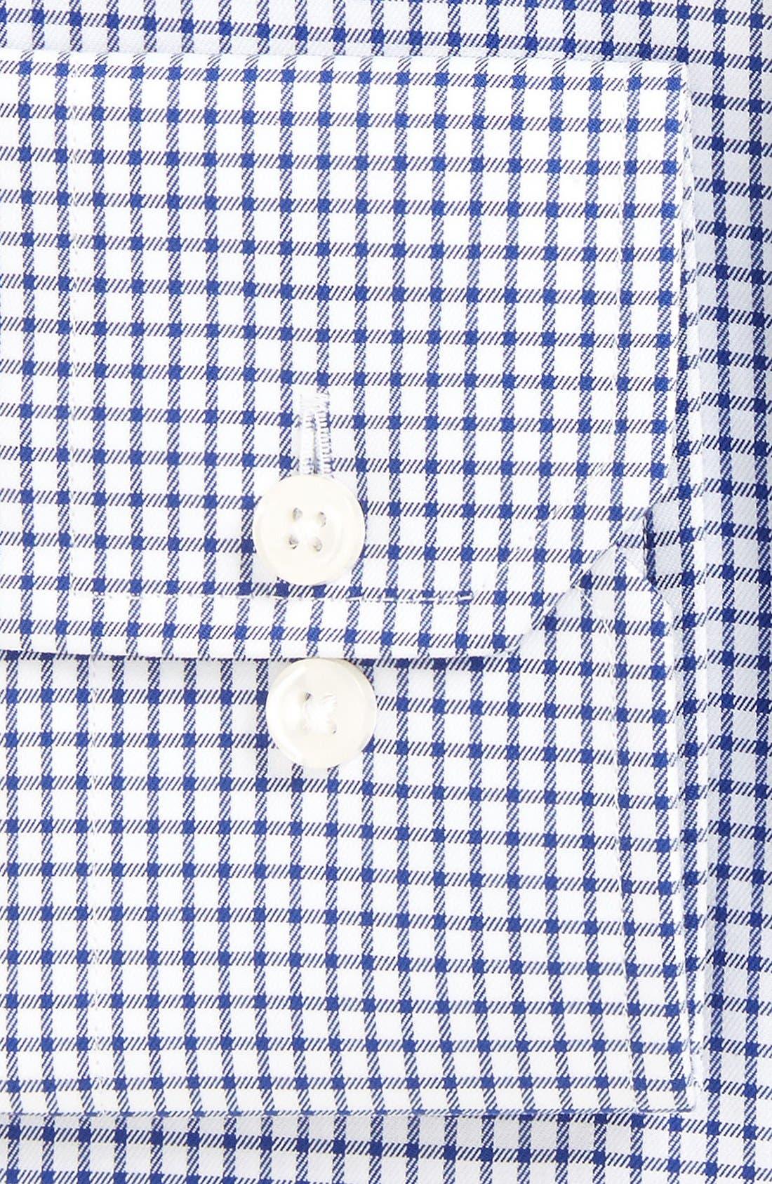 'Espirit' Trim Fit Check Dress Shirt,                             Alternate thumbnail 3, color,                             460