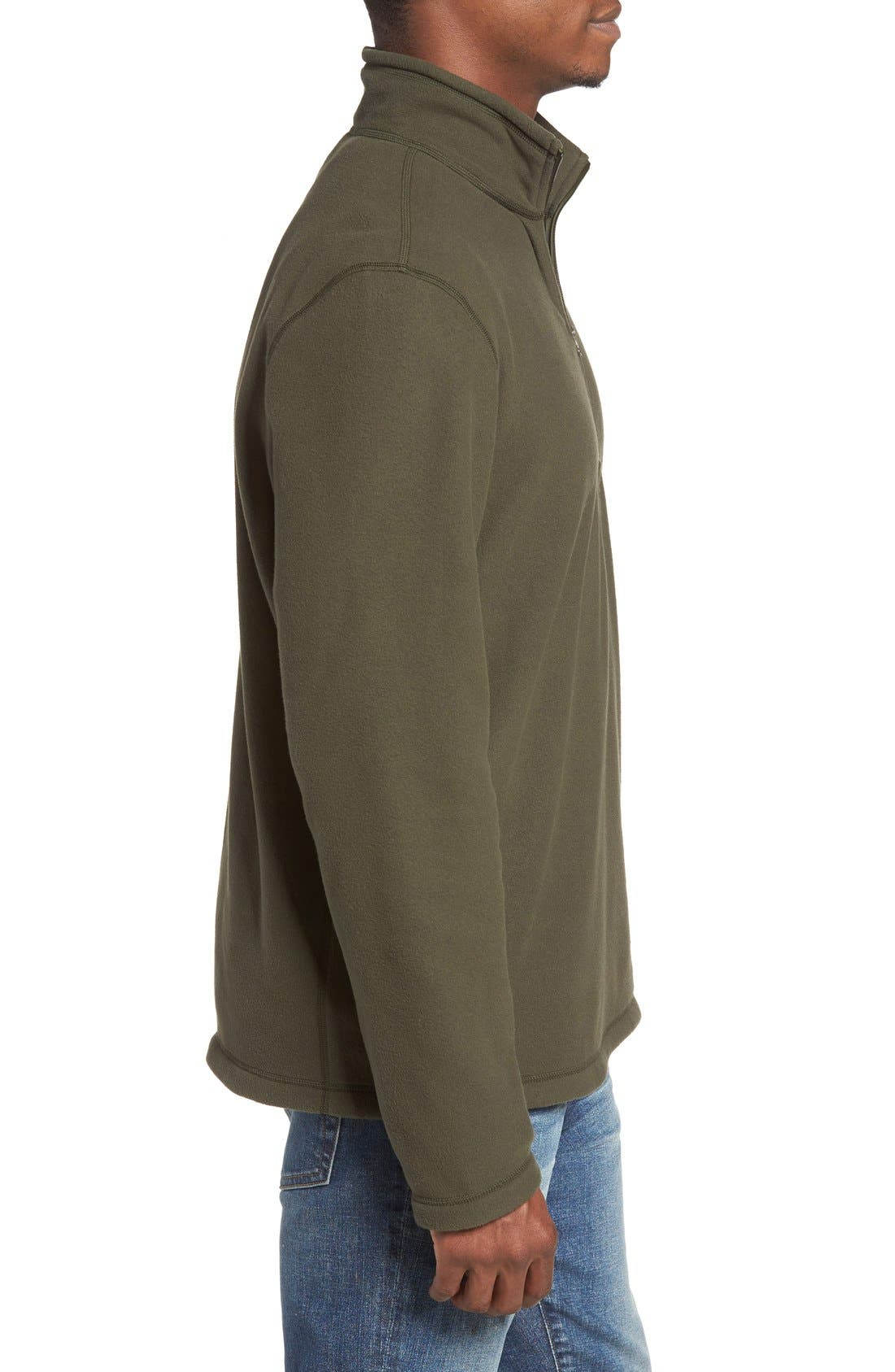'TKA 100 Glacier' Quarter Zip Fleece Pullover,                             Alternate thumbnail 210, color,