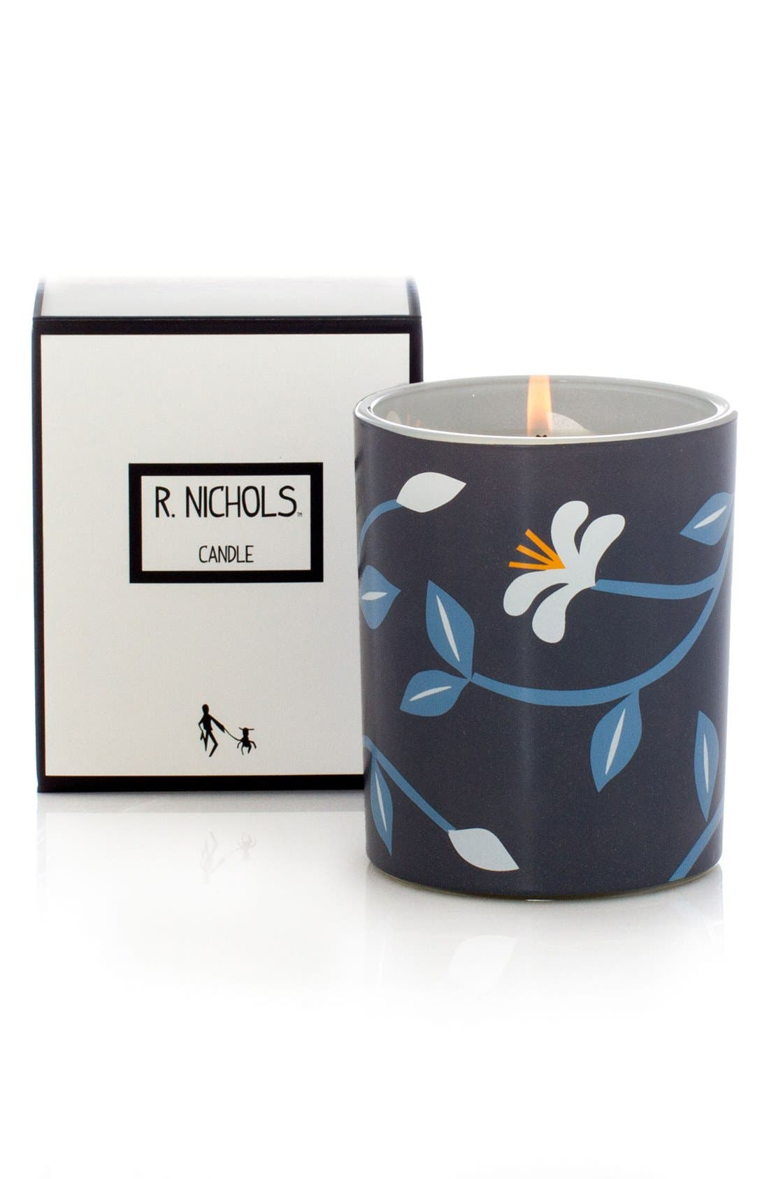 'Blue Jasmine' Scented Candle,                             Alternate thumbnail 2, color,                             000