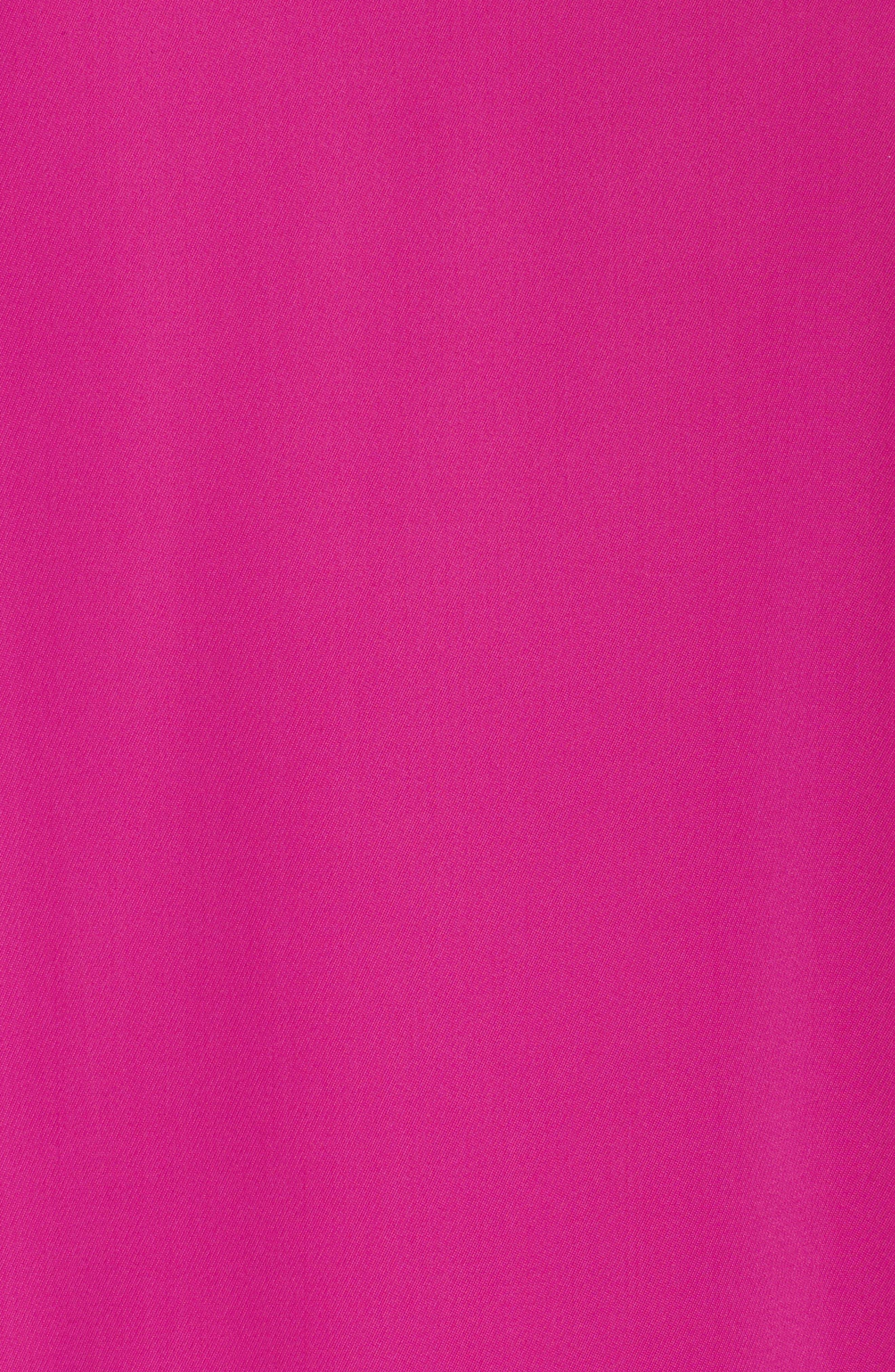 Lace & Crepe Shift Dress,                             Alternate thumbnail 10, color,