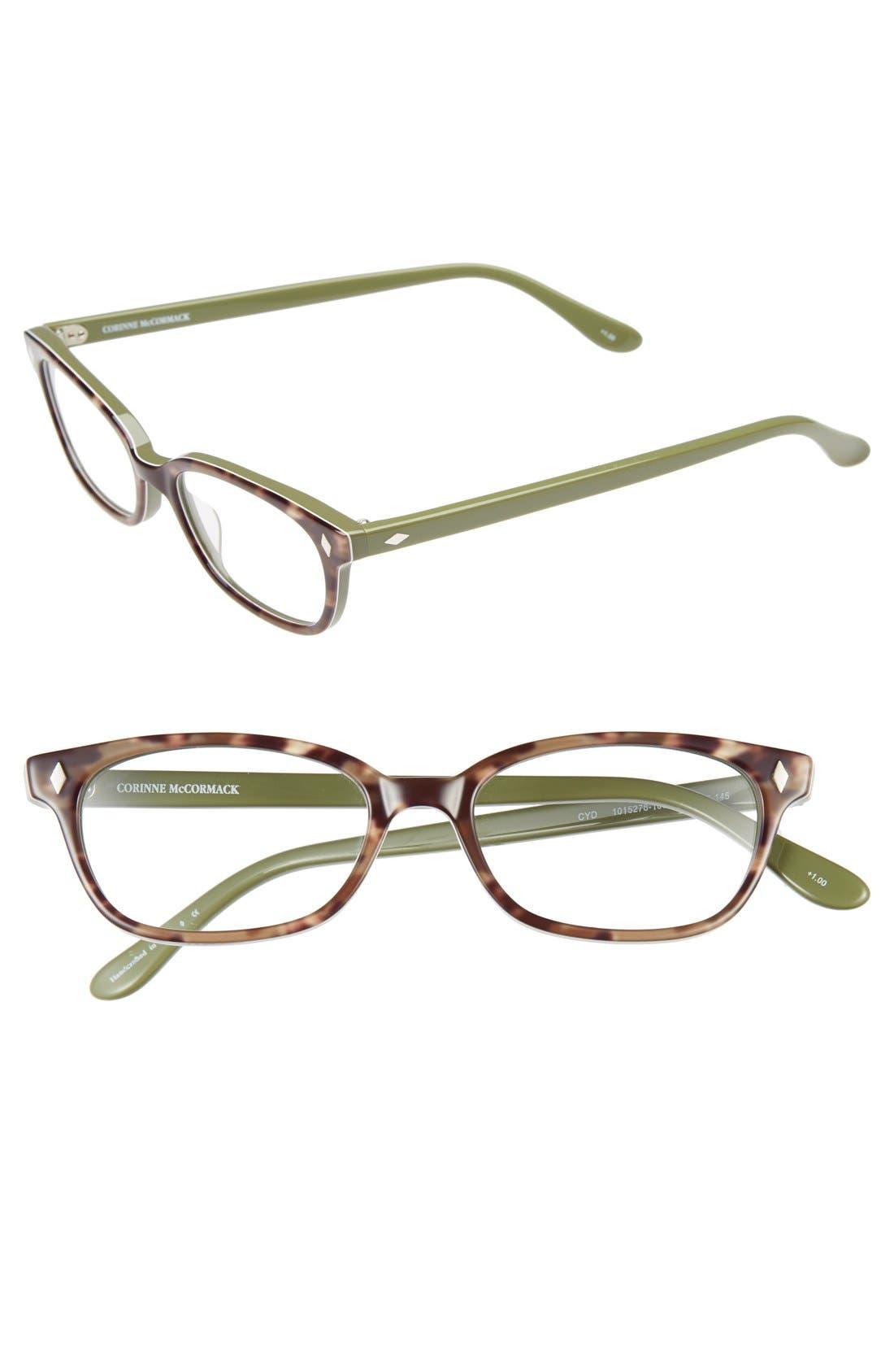 'Cyd' 50mm Reading Glasses,                             Main thumbnail 3, color,