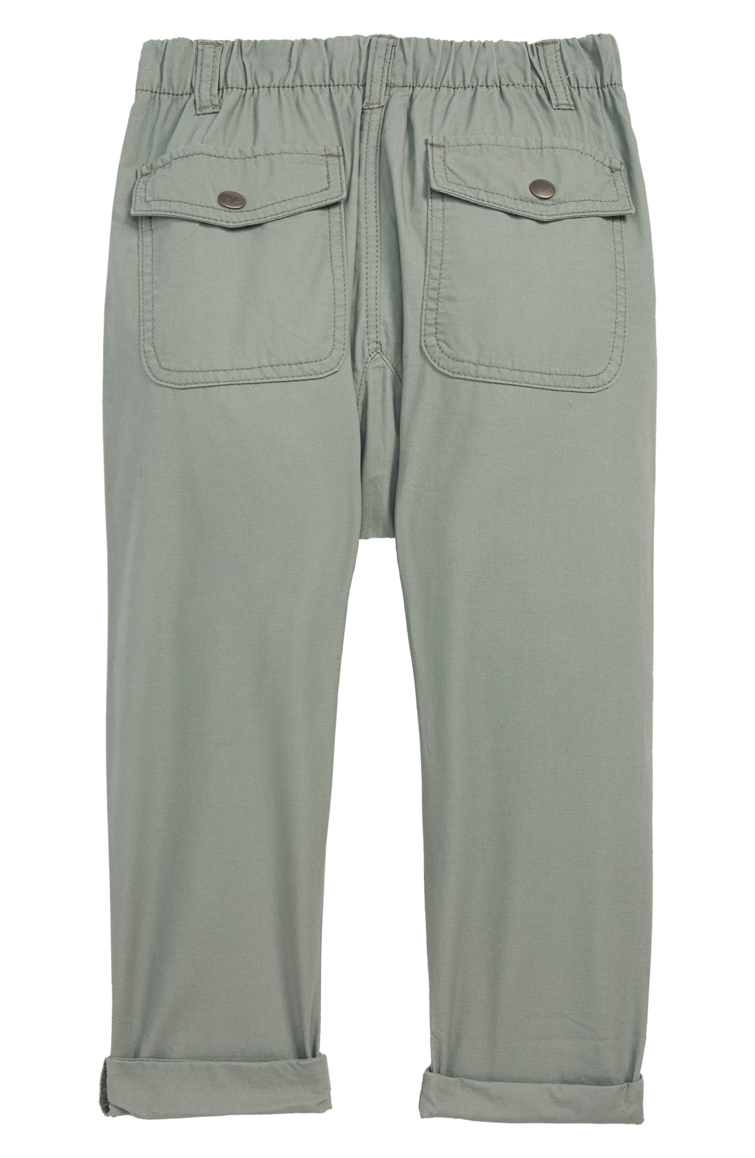 Pull On Pants,                             Alternate thumbnail 2, color,                             GREEN AGAVE