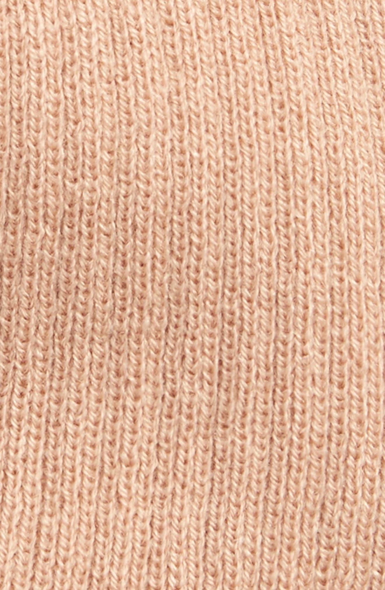Wide Rib Knit Beanie,                             Alternate thumbnail 8, color,