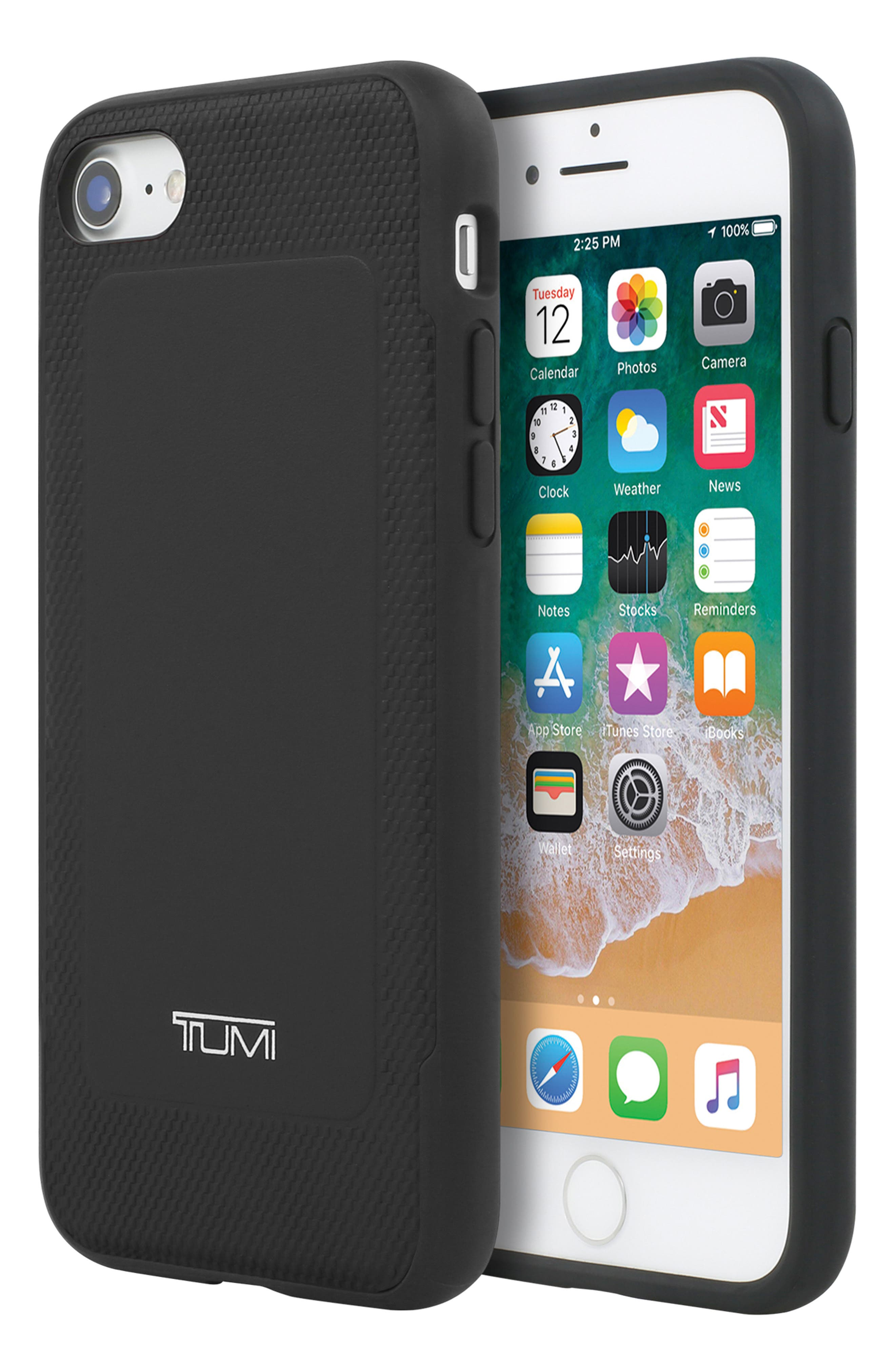 Leather iPhone 8 Case,                             Alternate thumbnail 9, color,