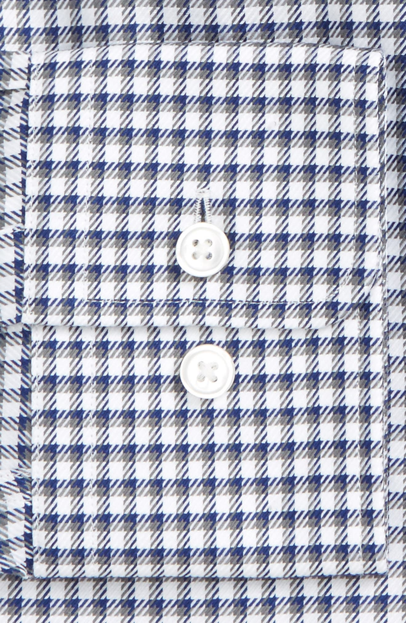 Mark Sharp Fit Check Dress Shirt,                             Alternate thumbnail 2, color,                             GREY