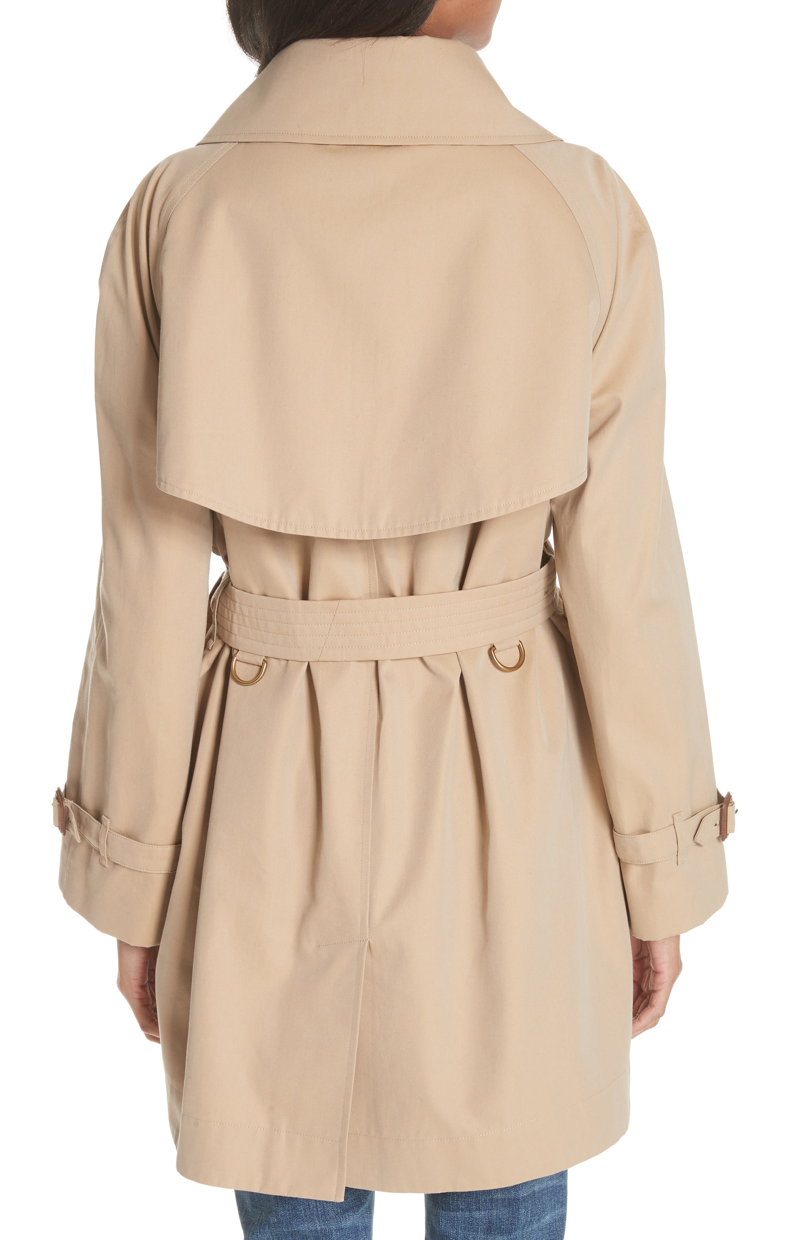 Fortingall Cotton Gabardine Trench Coat,                             Alternate thumbnail 2, color,                             255