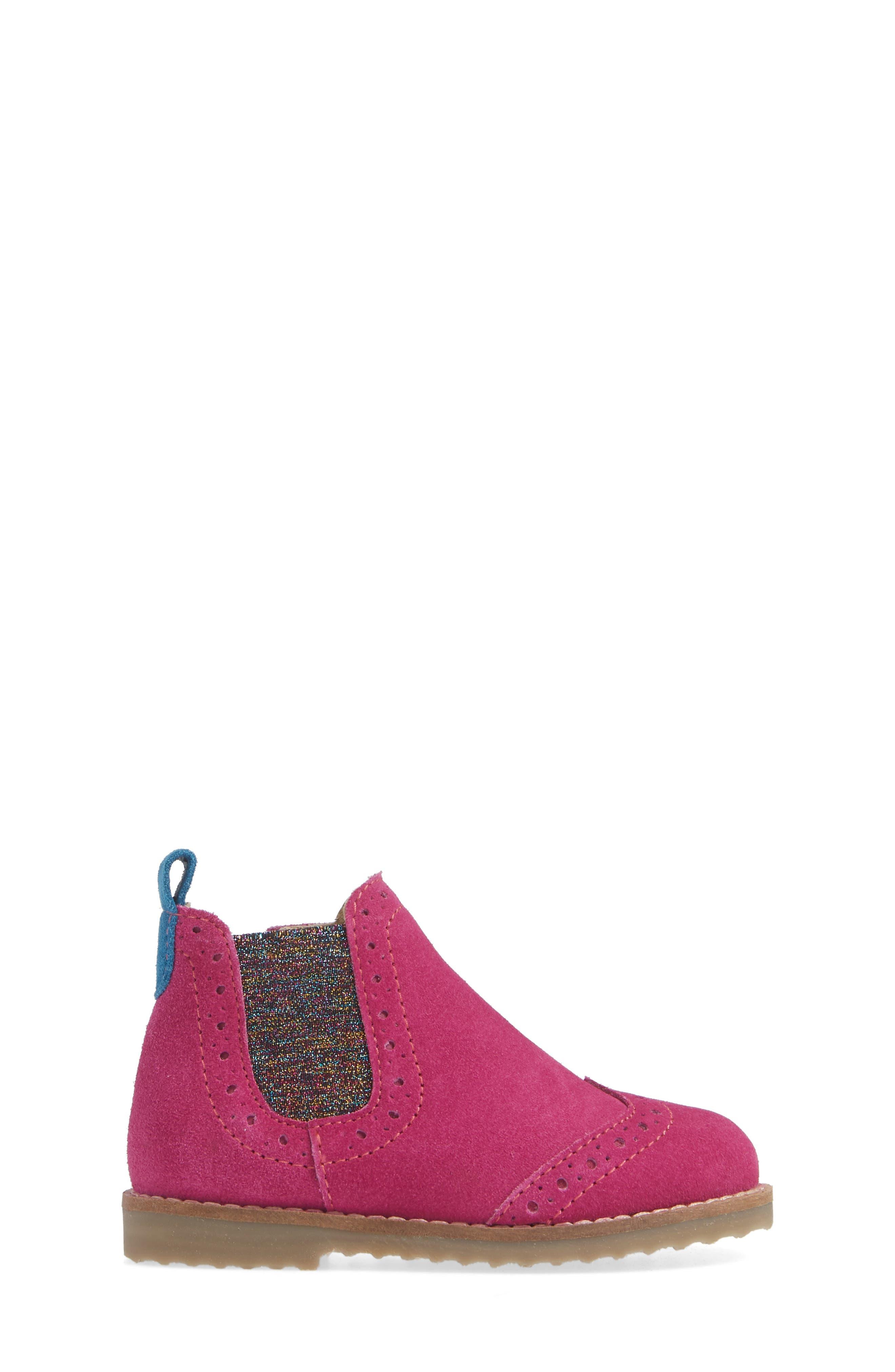 Chelsea Boot,                             Alternate thumbnail 3, color,                             REGAL PURPLE