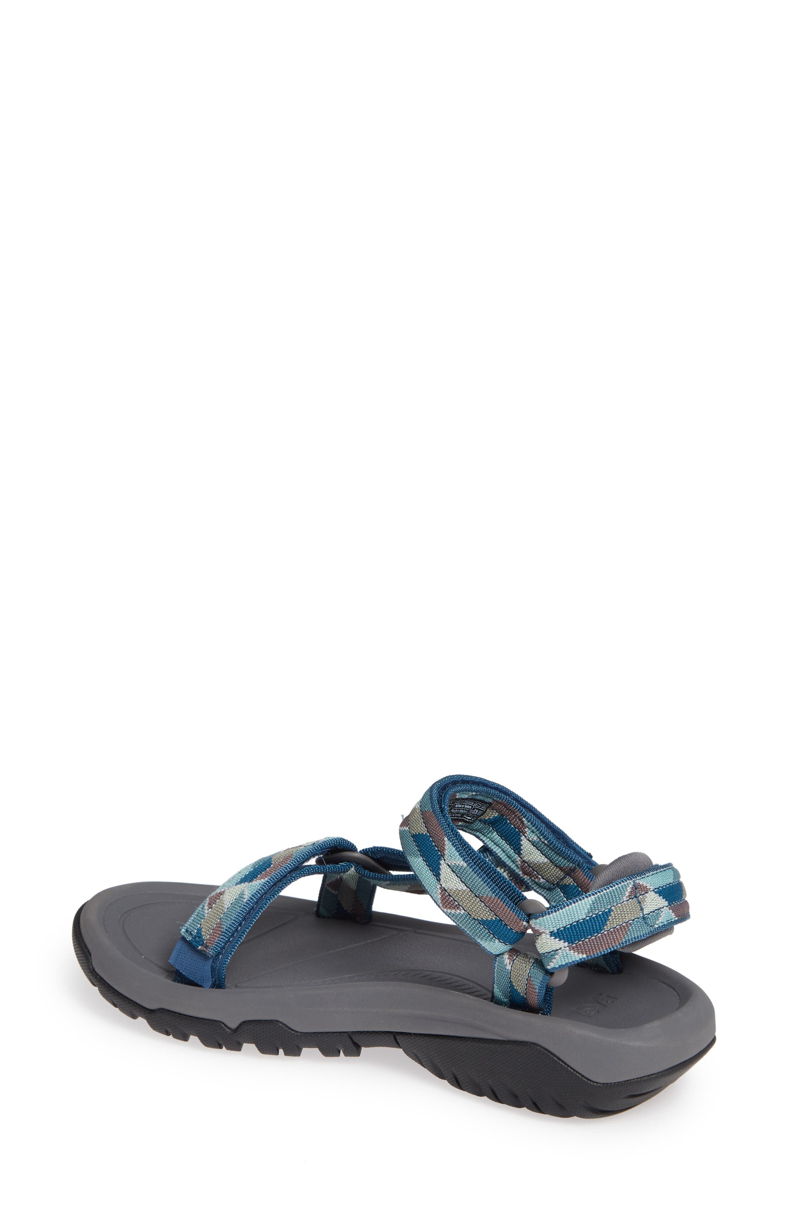 Hurricane XLT 2 Sandal,                             Alternate thumbnail 2, color,                             BLUE FABRIC