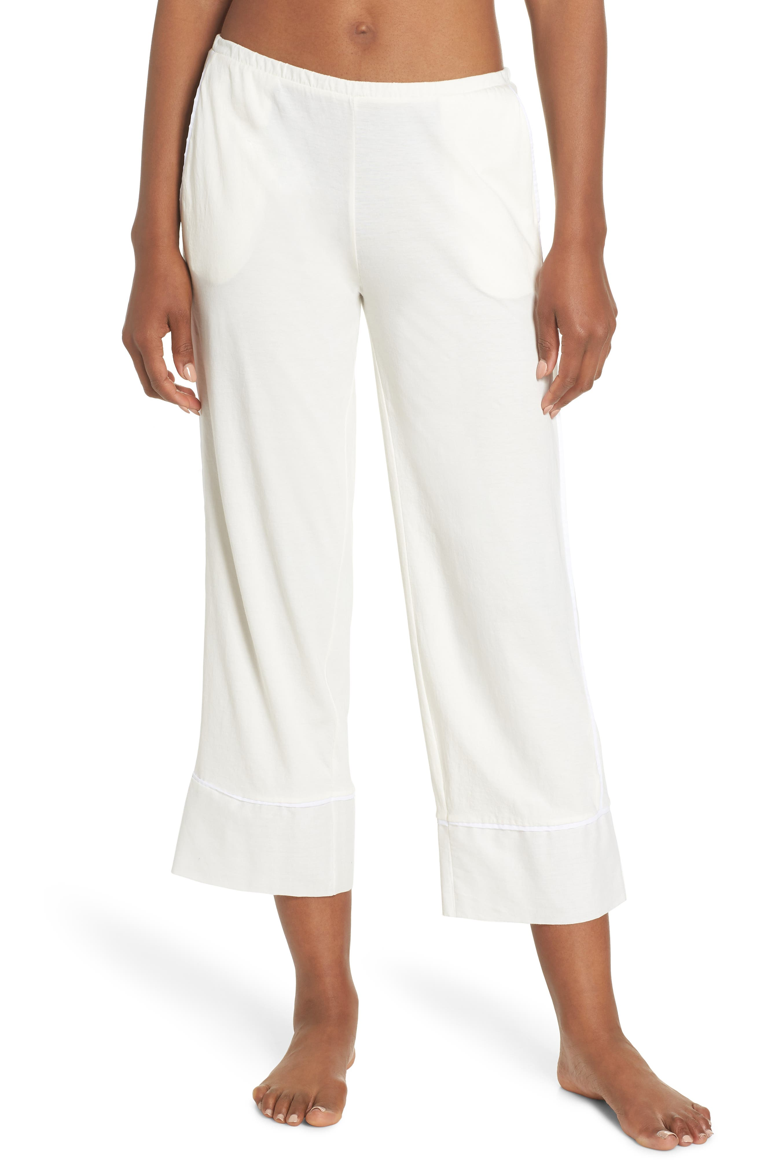 Barrie Pima Cotton Voile Sleep Pants,                         Main,                         color,