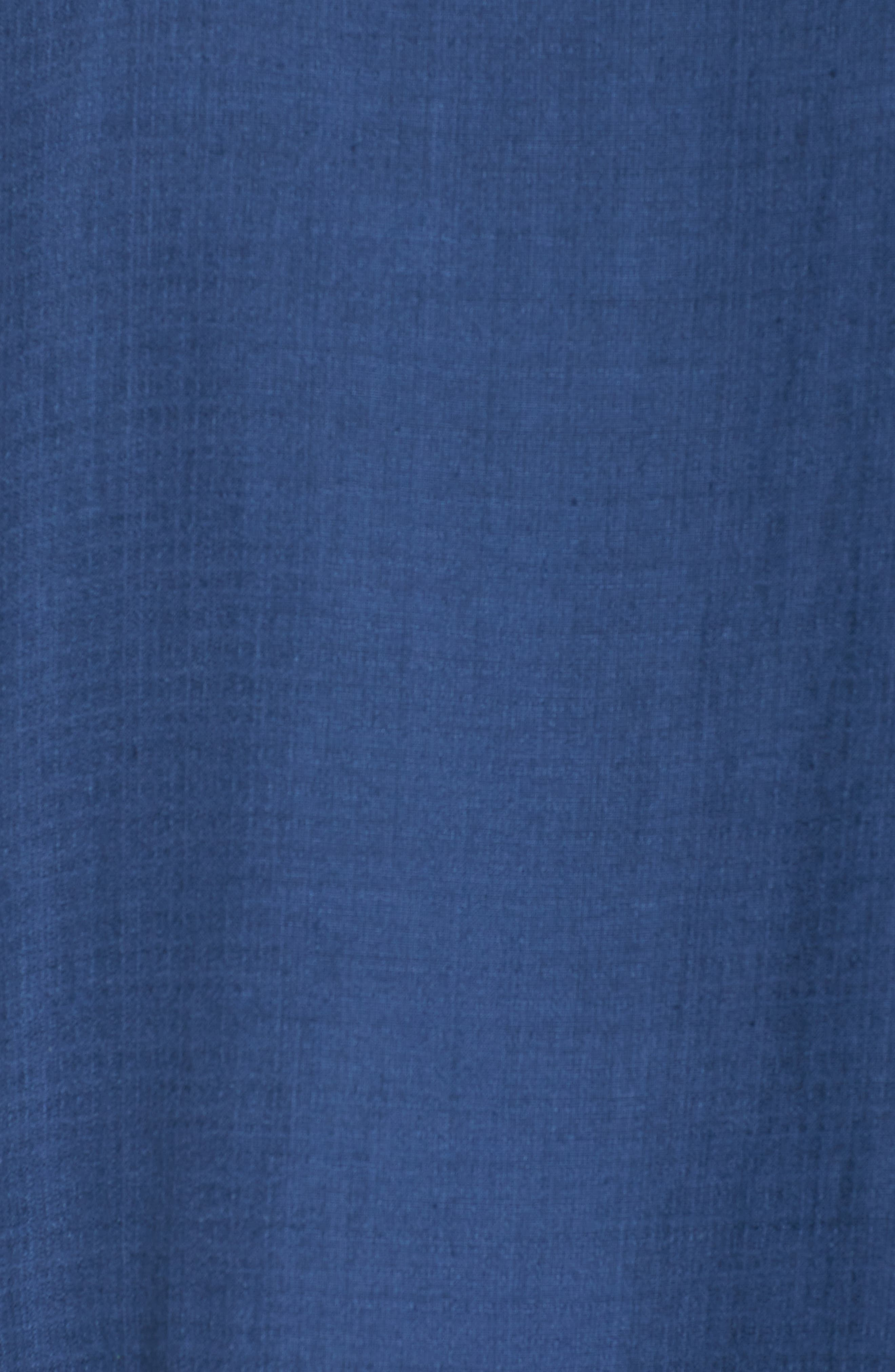 Linen Blend Shift Dress,                             Alternate thumbnail 15, color,