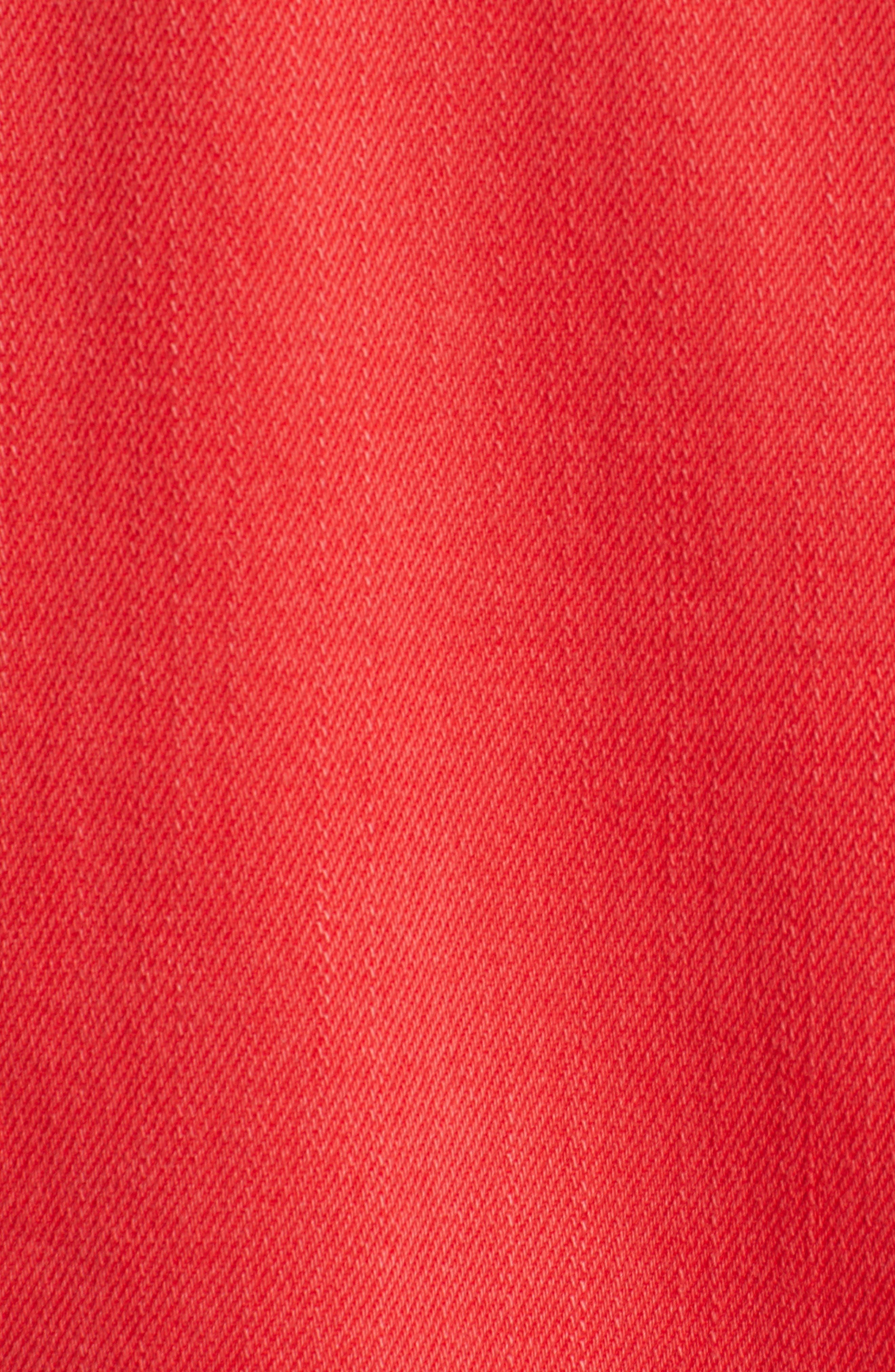 Decon Distressed Denim Jacket,                             Alternate thumbnail 7, color,