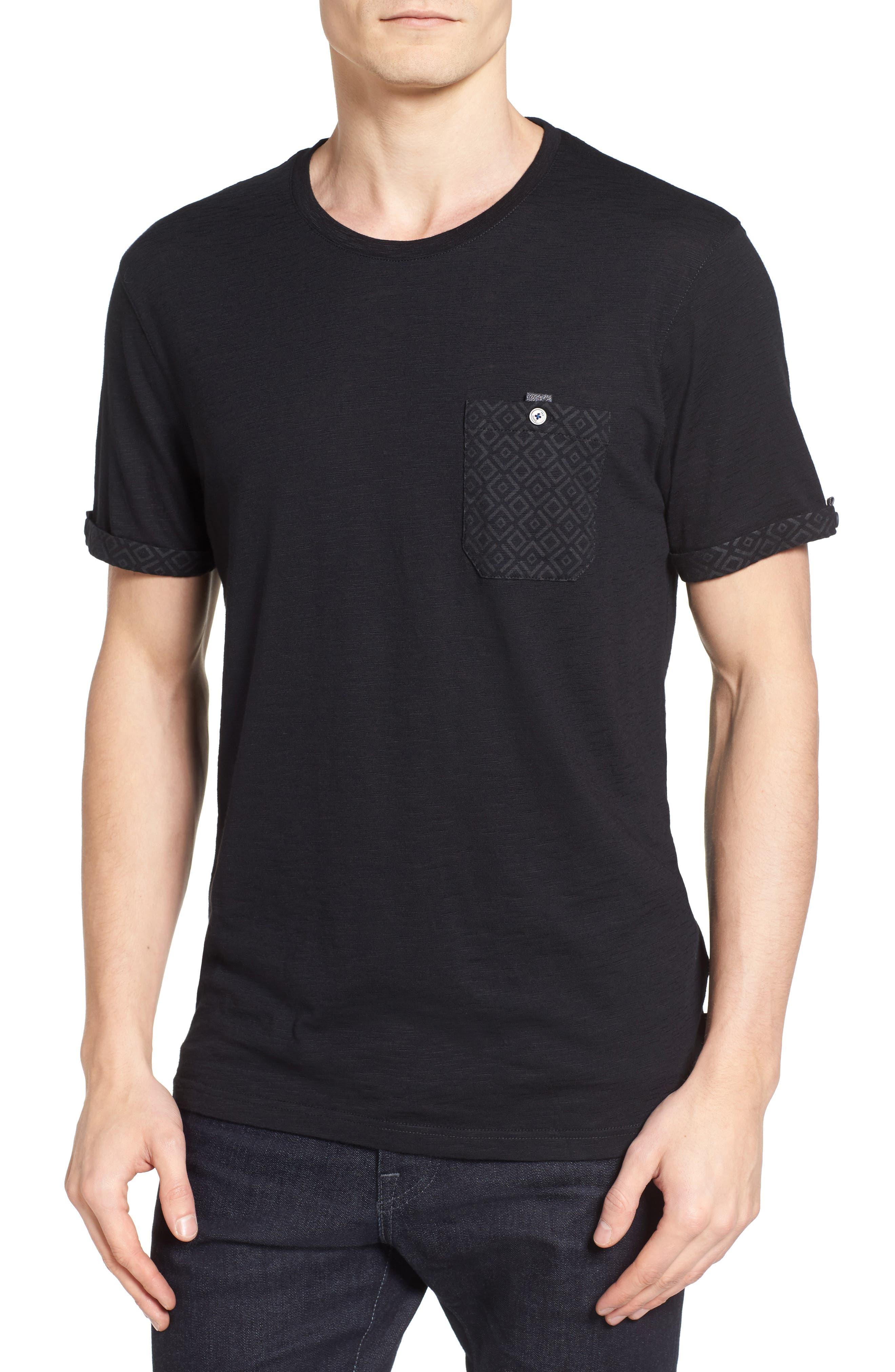 Apel Print Pocket T-Shirt,                             Main thumbnail 1, color,                             001