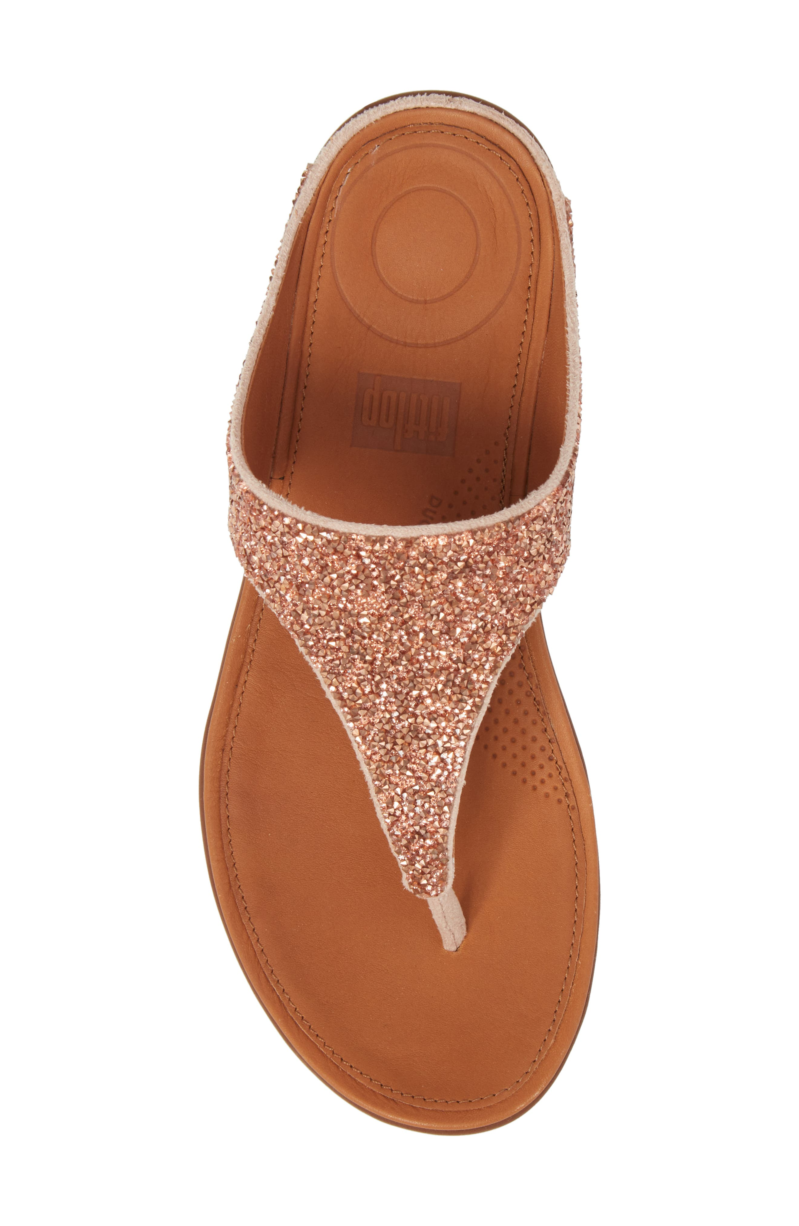 FITFLOP,                             Banda II Flip Flop,                             Alternate thumbnail 5, color,                             NUDE