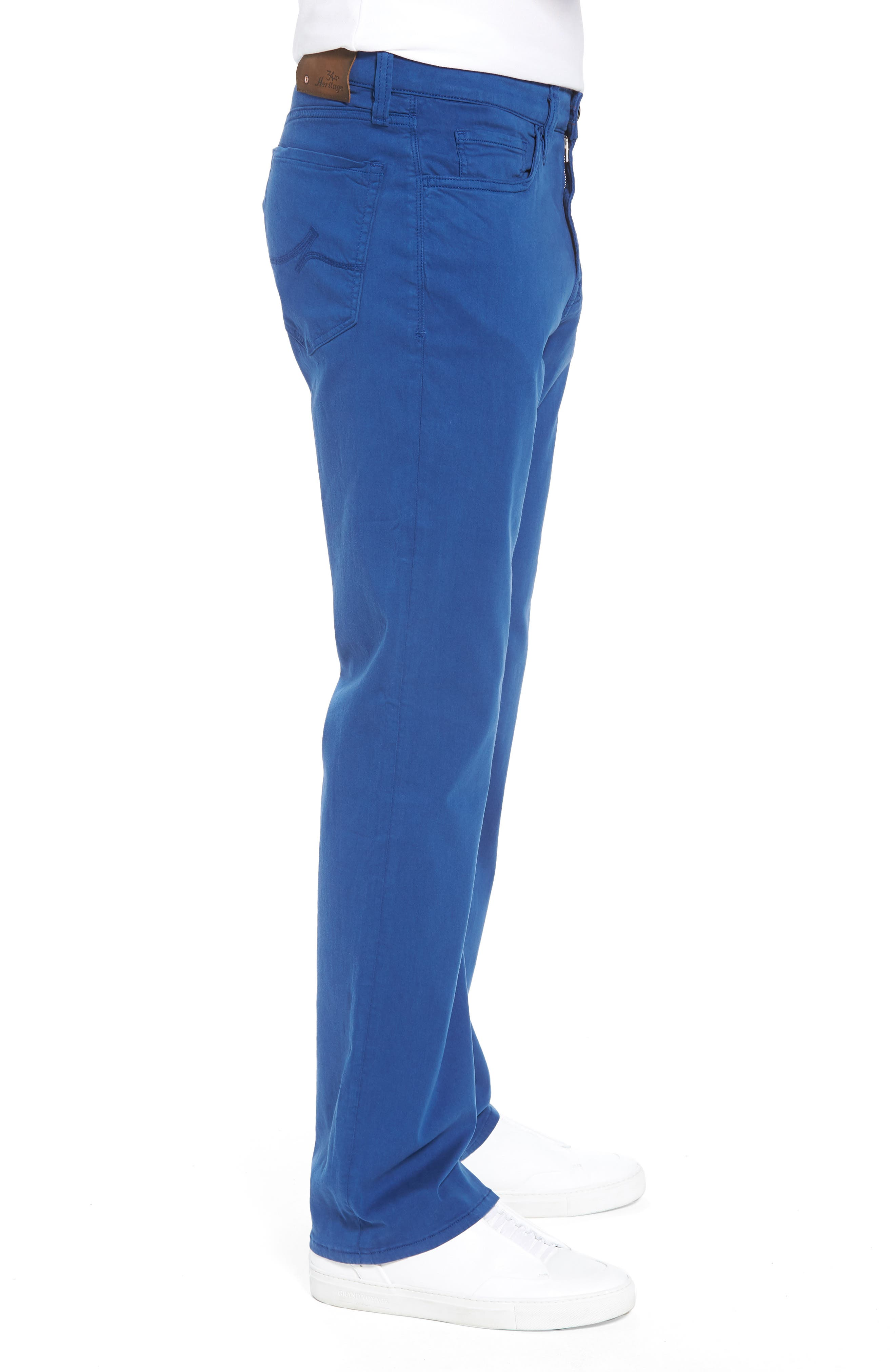 Charisma Relaxed Fit Jeans,                             Alternate thumbnail 3, color,                             ROYAL TWILL